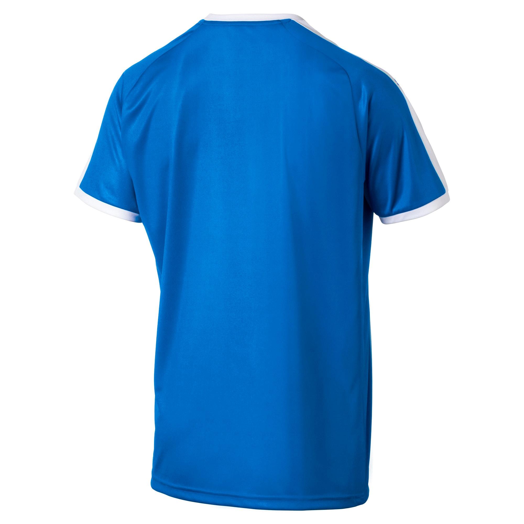 Thumbnail 5 of Liga shirt voor heren, Electric Blue Lemonade-White, medium