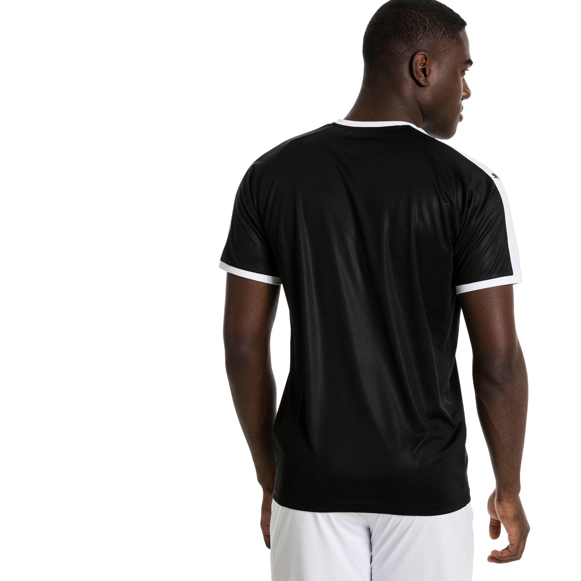 Thumbnail 2 of Liga shirt voor heren, Puma Black-Puma White, medium