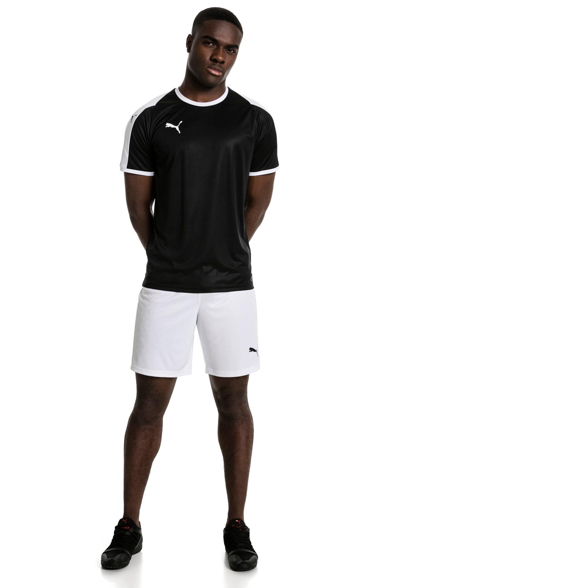 Thumbnail 3 of Liga shirt voor heren, Puma Black-Puma White, medium