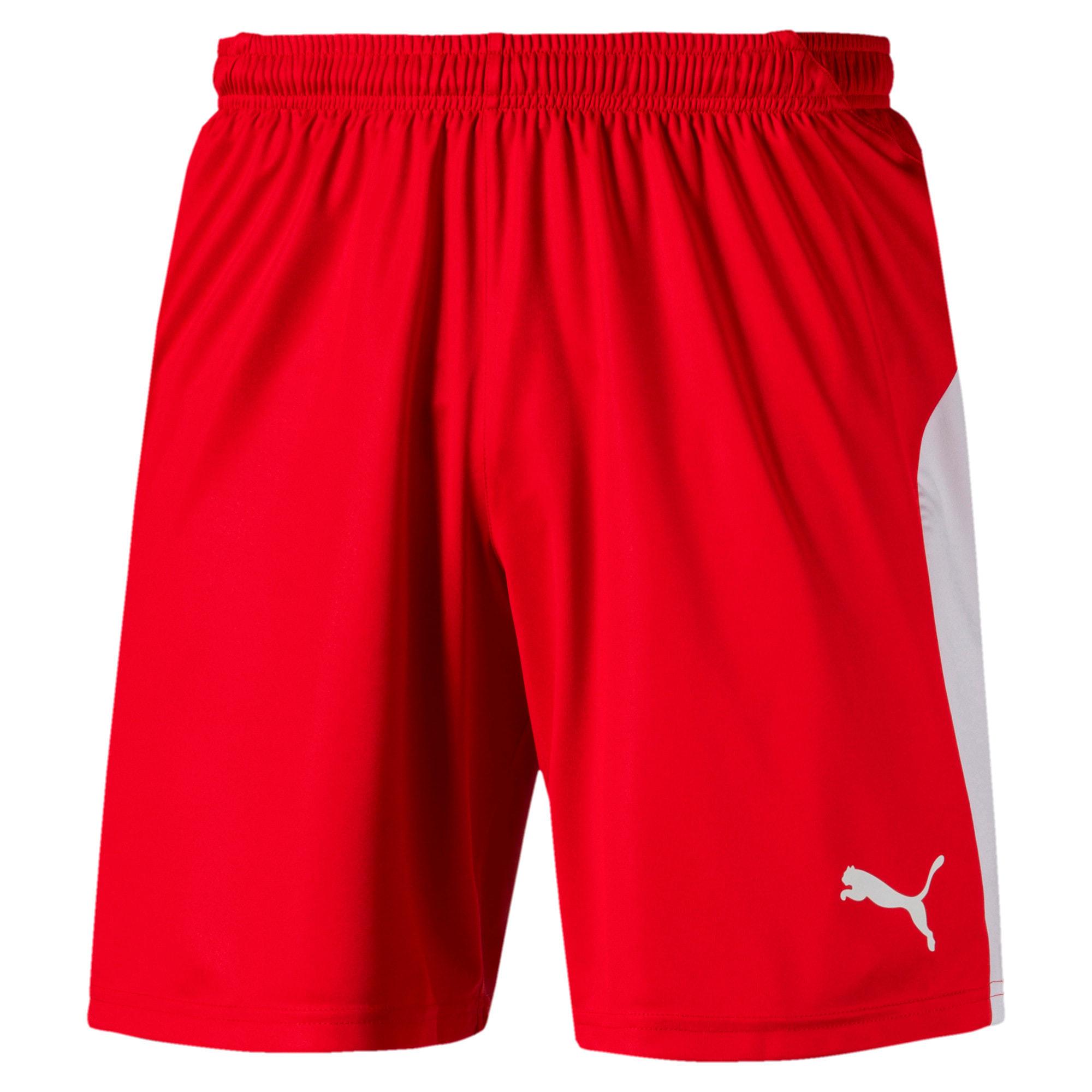 Thumbnail 1 of LIGA Men's Shorts, Puma Red-Puma White, medium