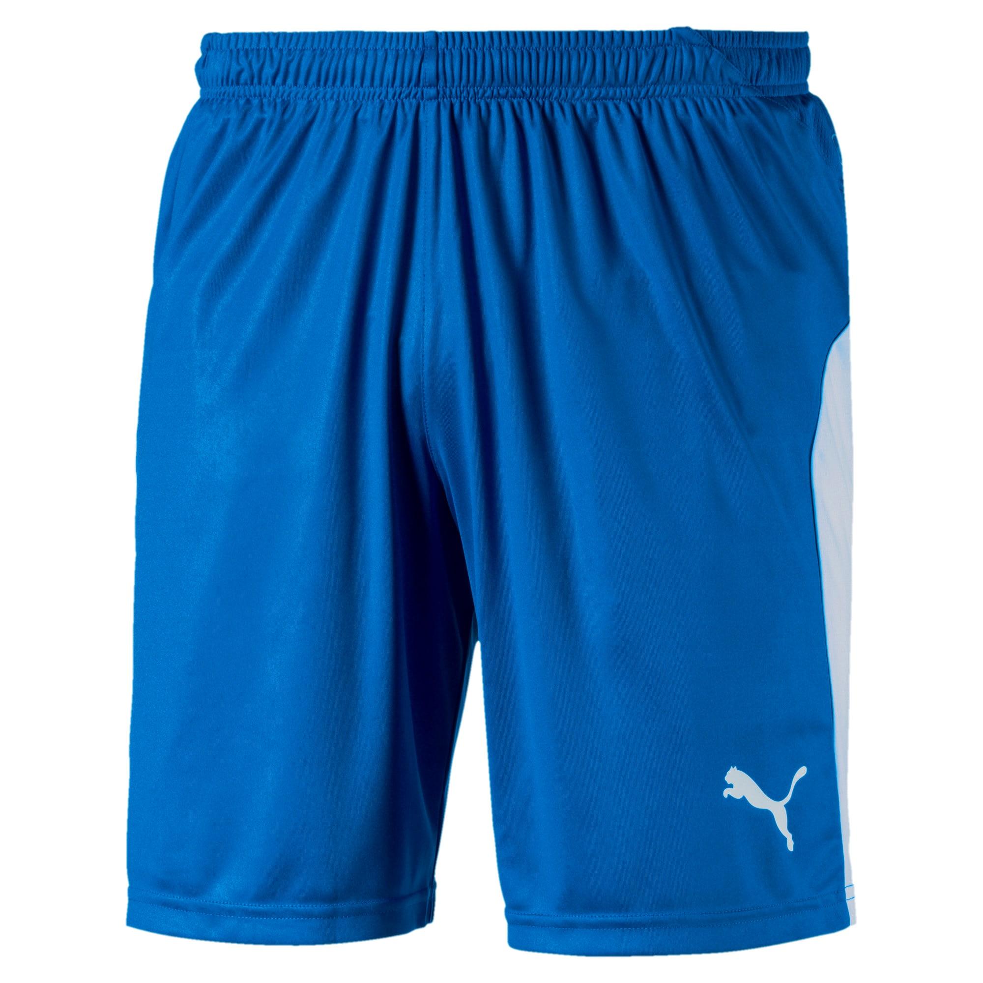 Thumbnail 1 of LIGA Men's Shorts, Electric Blue Lemonade-White, medium