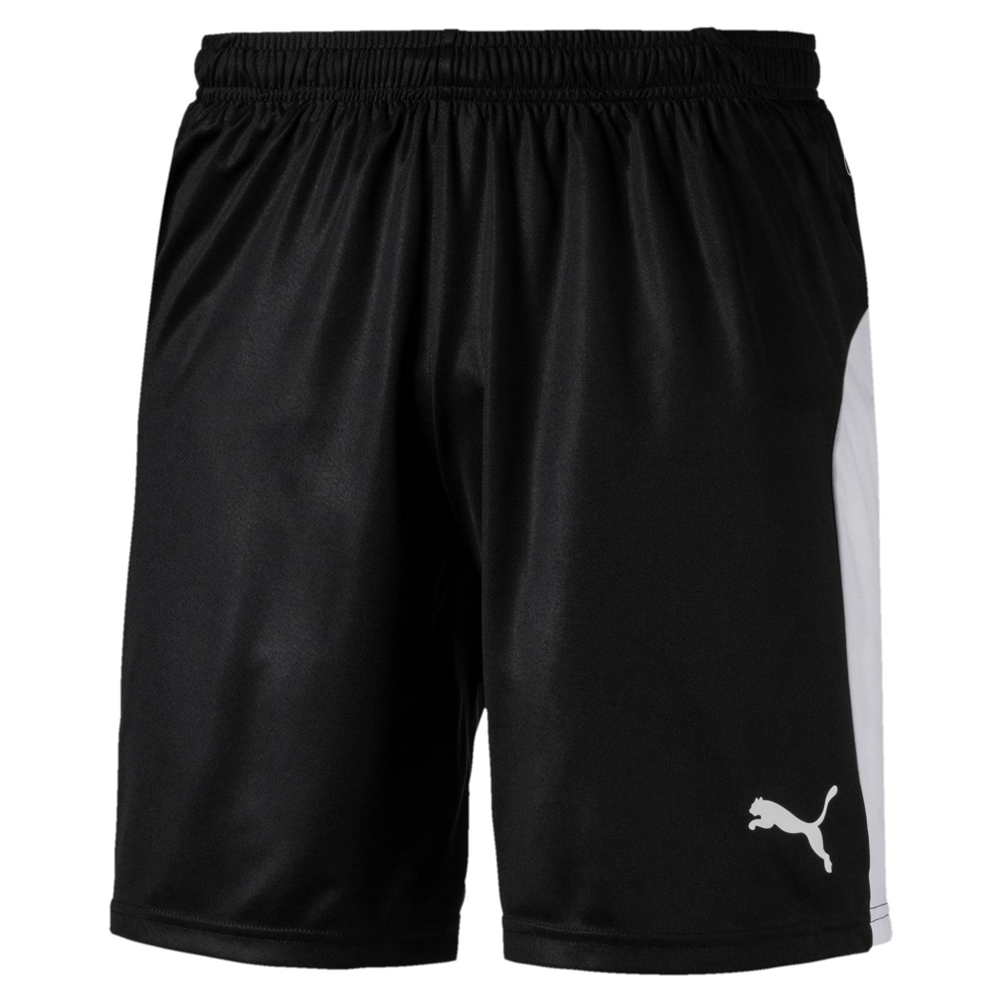 Thumbnail 1 of LIGA Men's Shorts, Puma Black-Puma White, medium