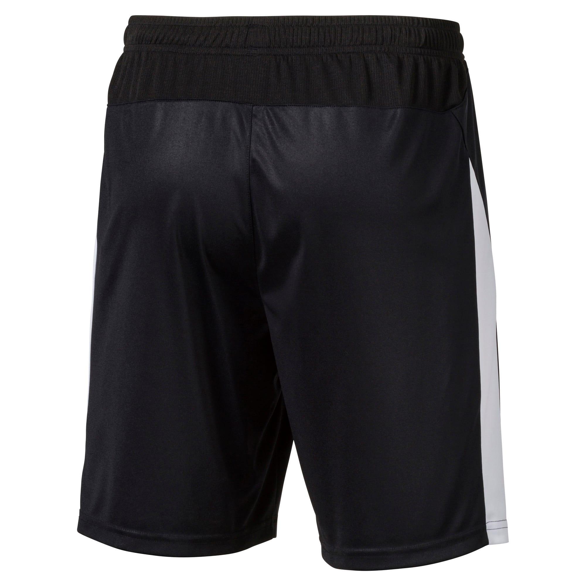 Thumbnail 4 of Liga Men's Shorts, Puma Black-Puma White, medium