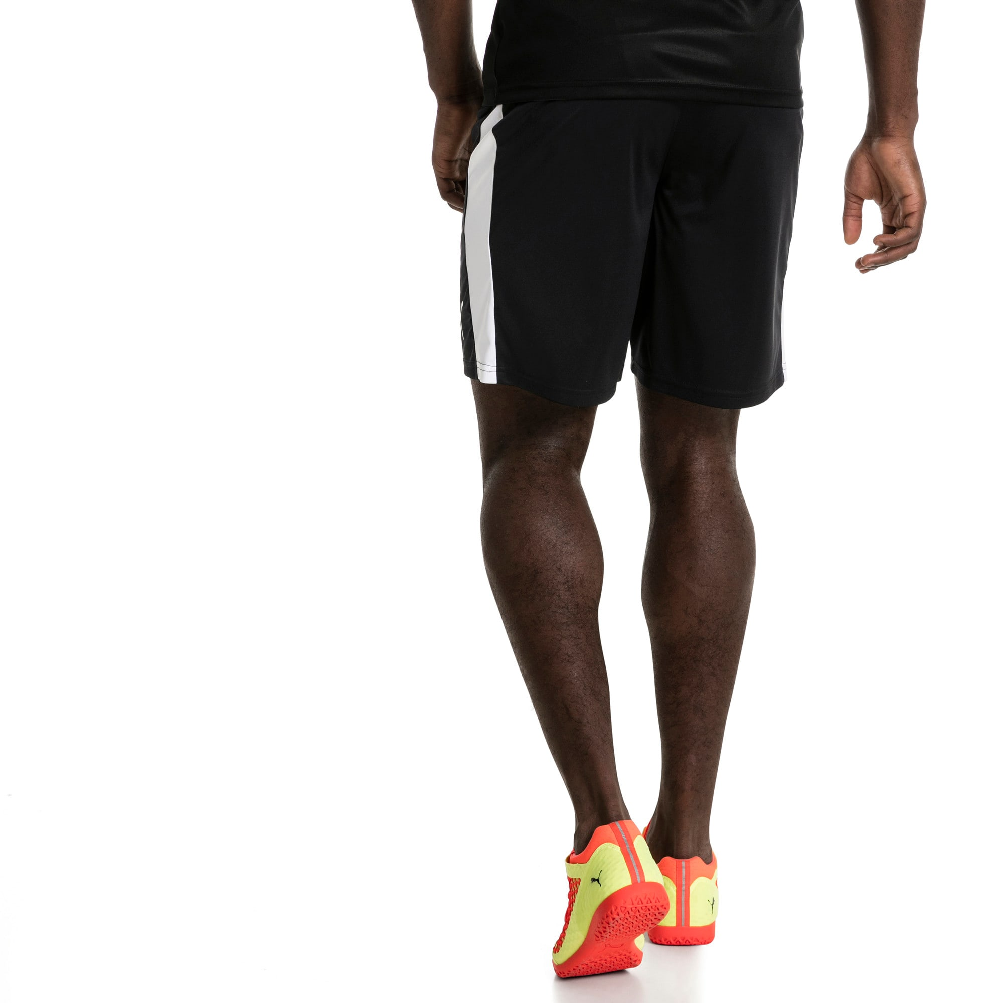 Thumbnail 3 of Liga Men's Shorts, Puma Black-Puma White, medium