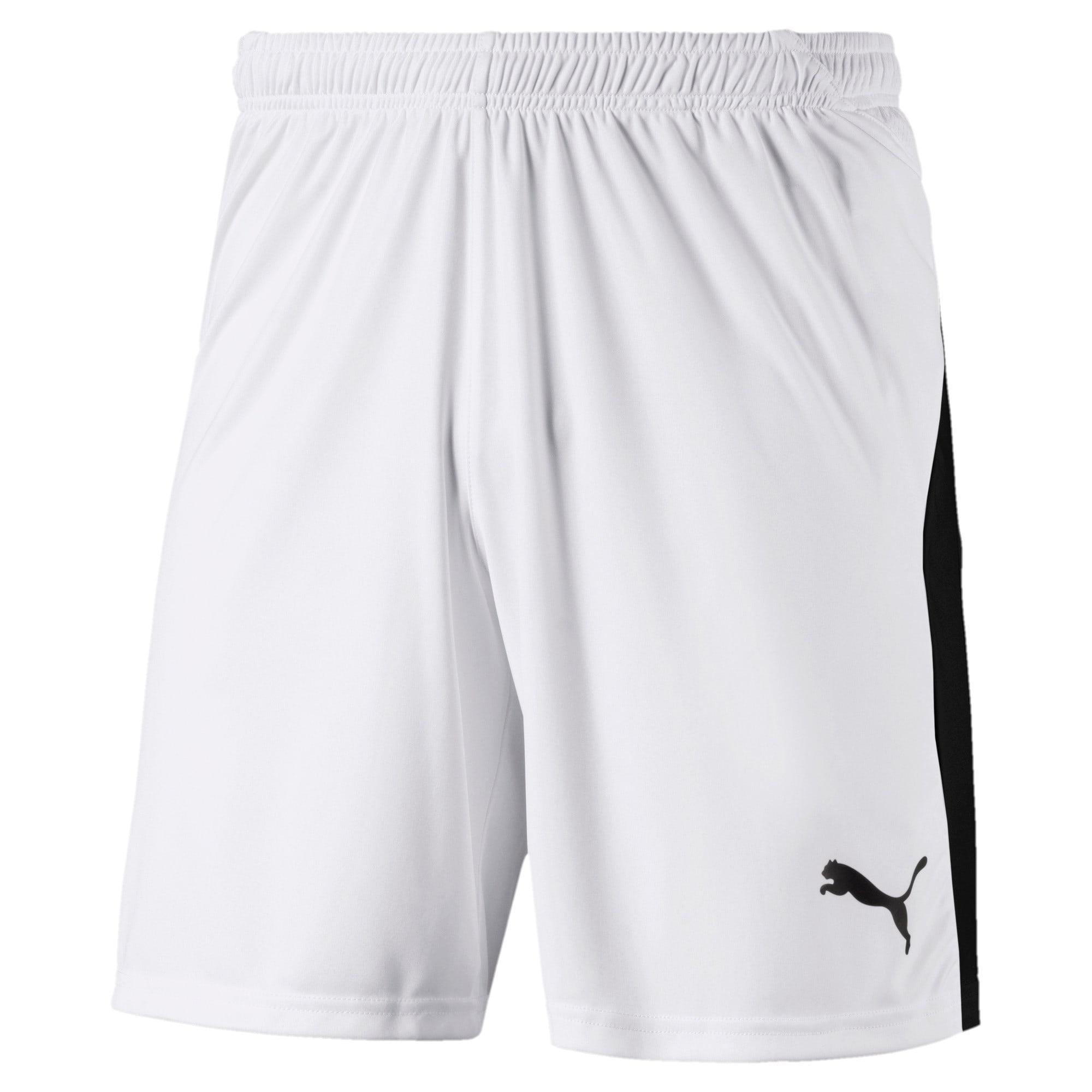 Thumbnail 1 of Liga Men's Shorts, Puma White-Puma Black, medium
