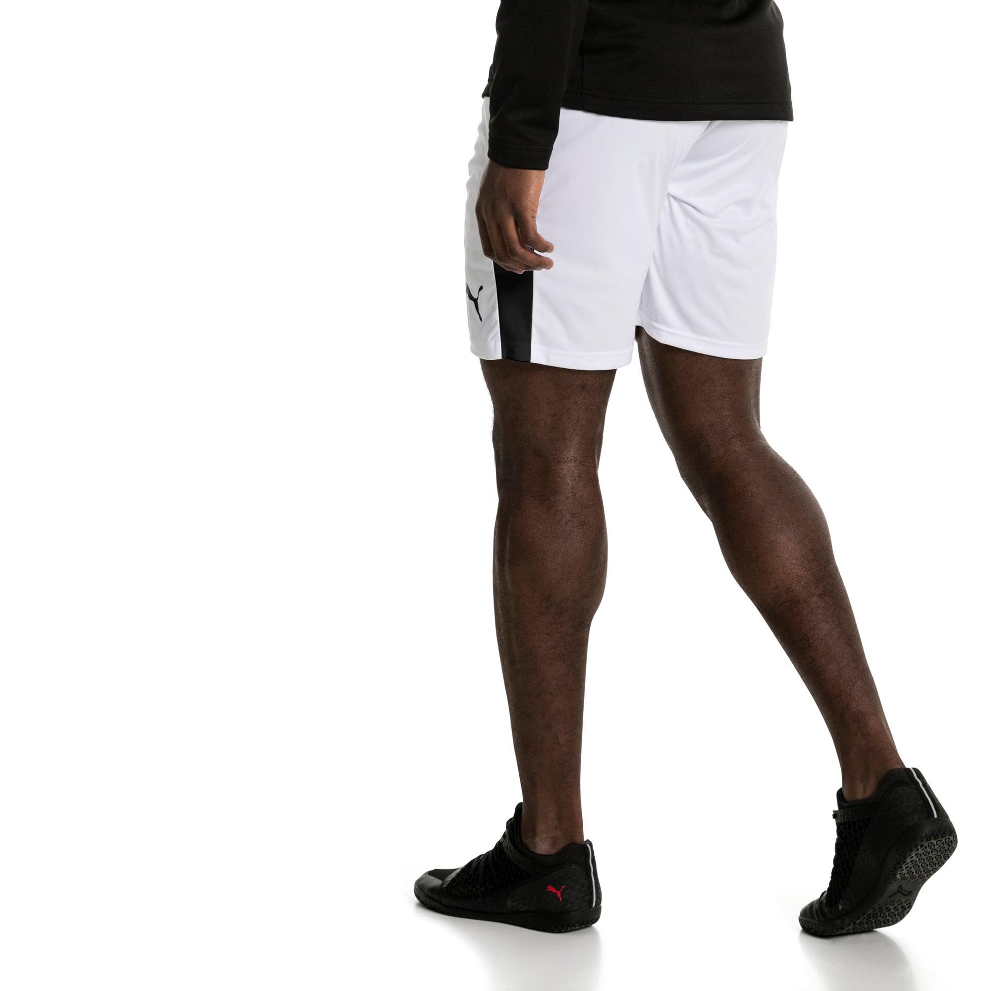 Thumbnail 3 of Liga Men's Shorts, Puma White-Puma Black, medium