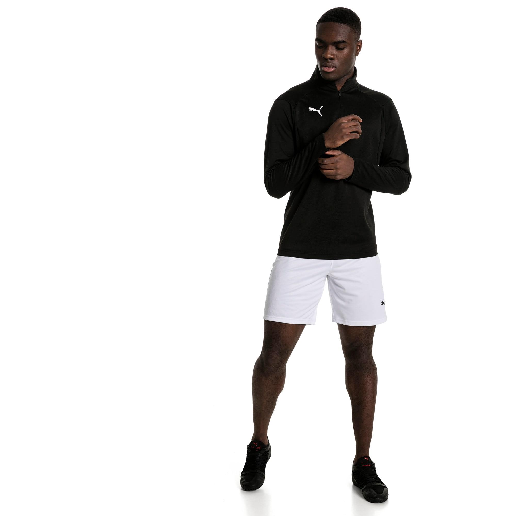 Thumbnail 5 of Liga Men's Shorts, Puma White-Puma Black, medium