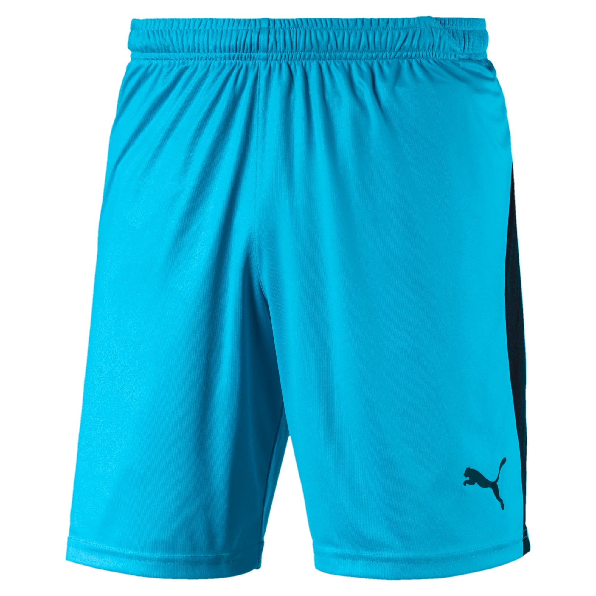 Thumbnail 1 of Liga Men's Shorts, AQUARIUS-Puma Black, medium
