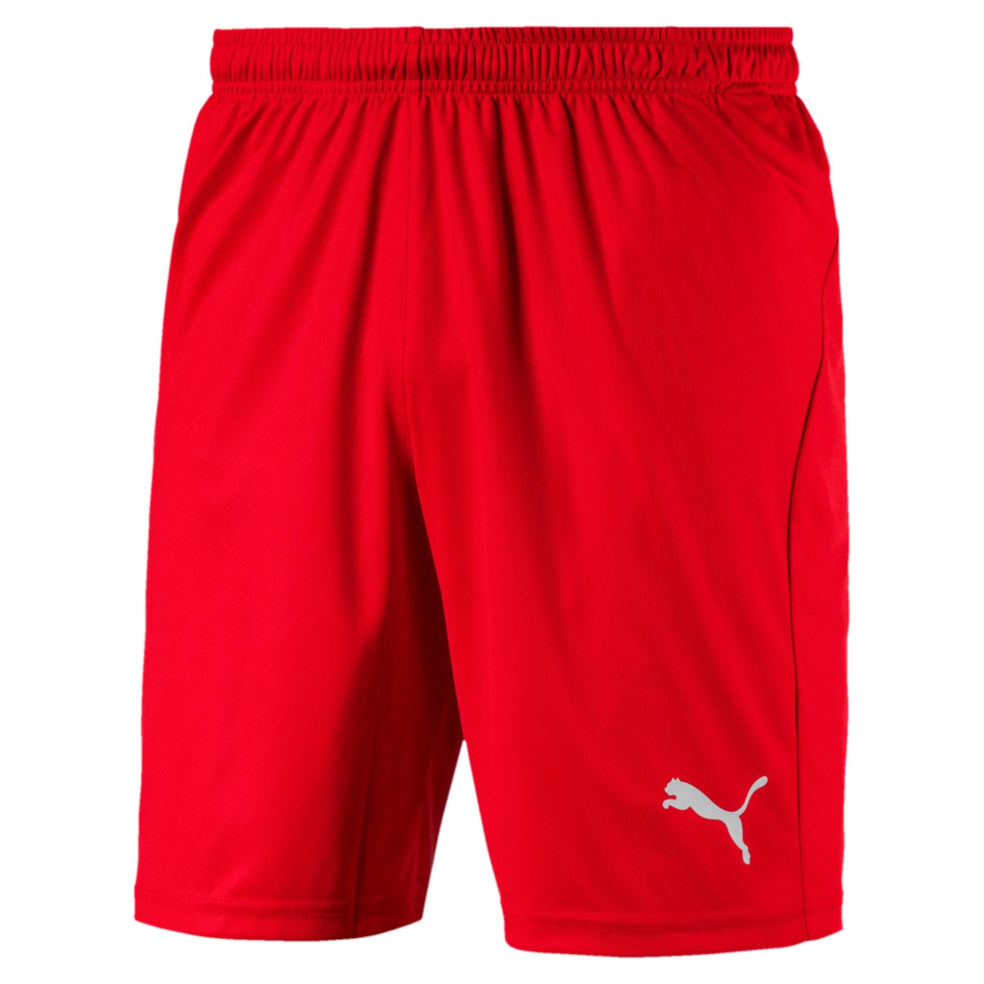 Thumbnail 4 of Liga Core Men's Shorts, Puma Red-Puma White, medium