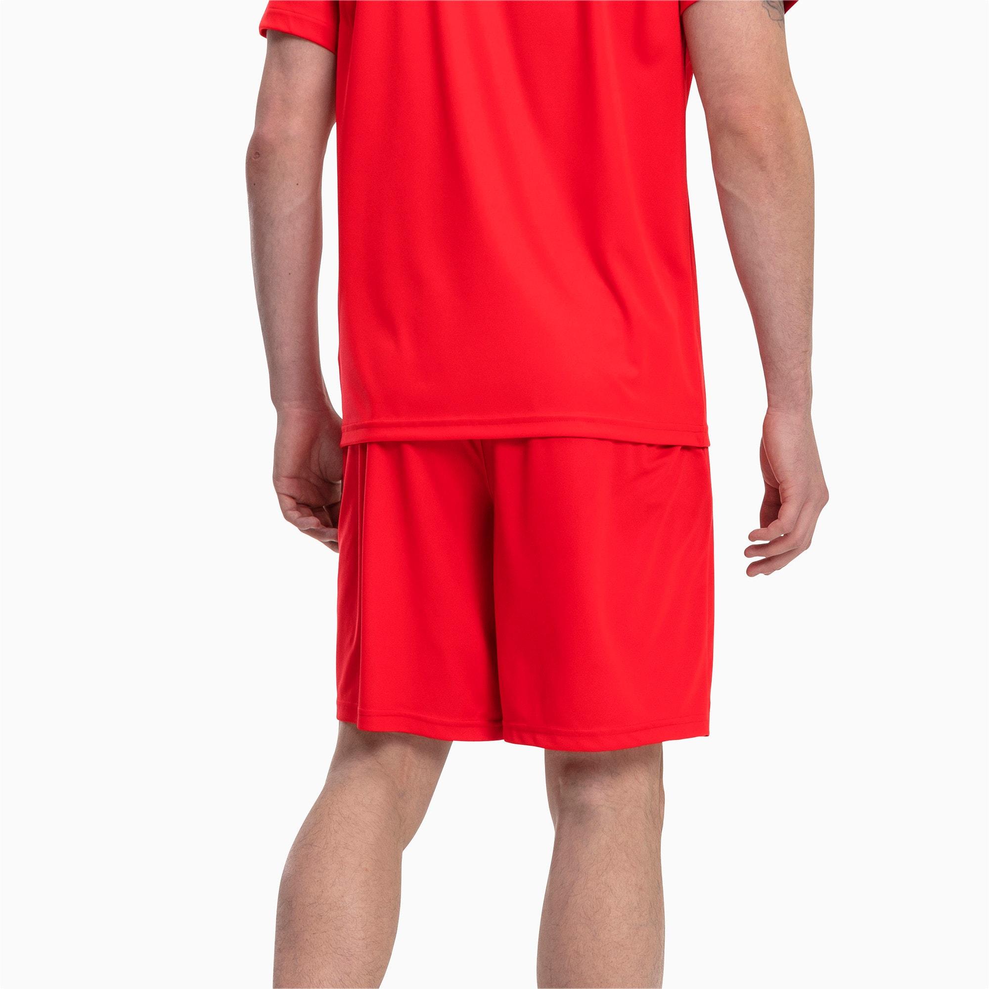 Thumbnail 2 of Liga Core Men's Shorts, Puma Red-Puma White, medium