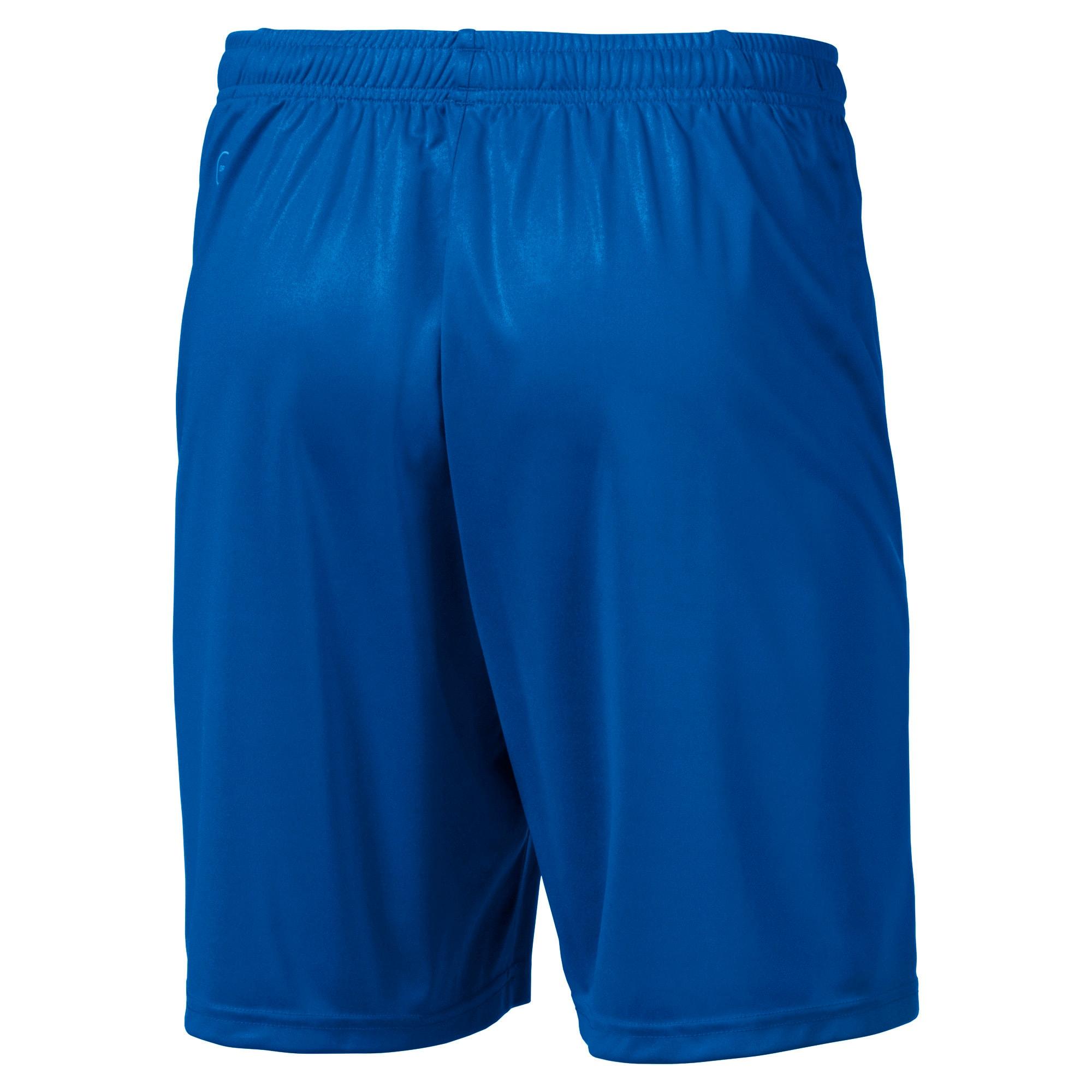 Thumbnail 5 of Liga Core Men's Shorts, Electric Blue Lemonade-White, medium