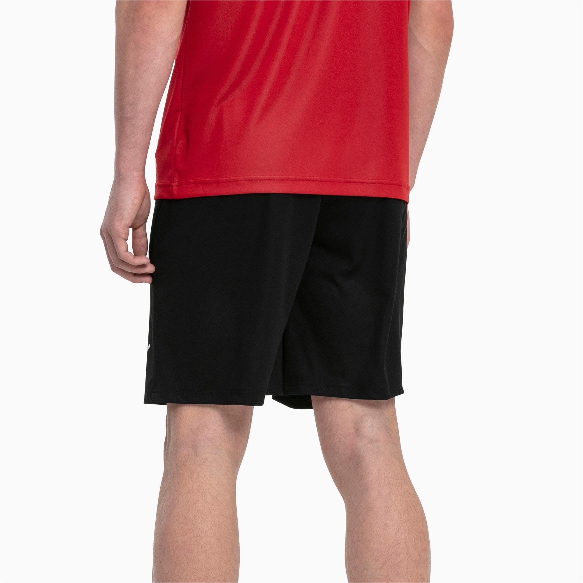 Thumbnail 2 of Liga Core Men's Shorts, Puma Black-Puma White, medium