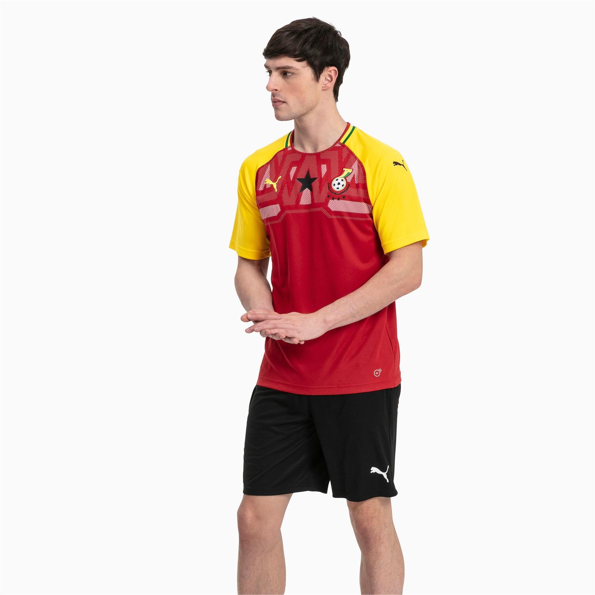 Thumbnail 3 of Liga Core Men's Shorts, Puma Black-Puma White, medium