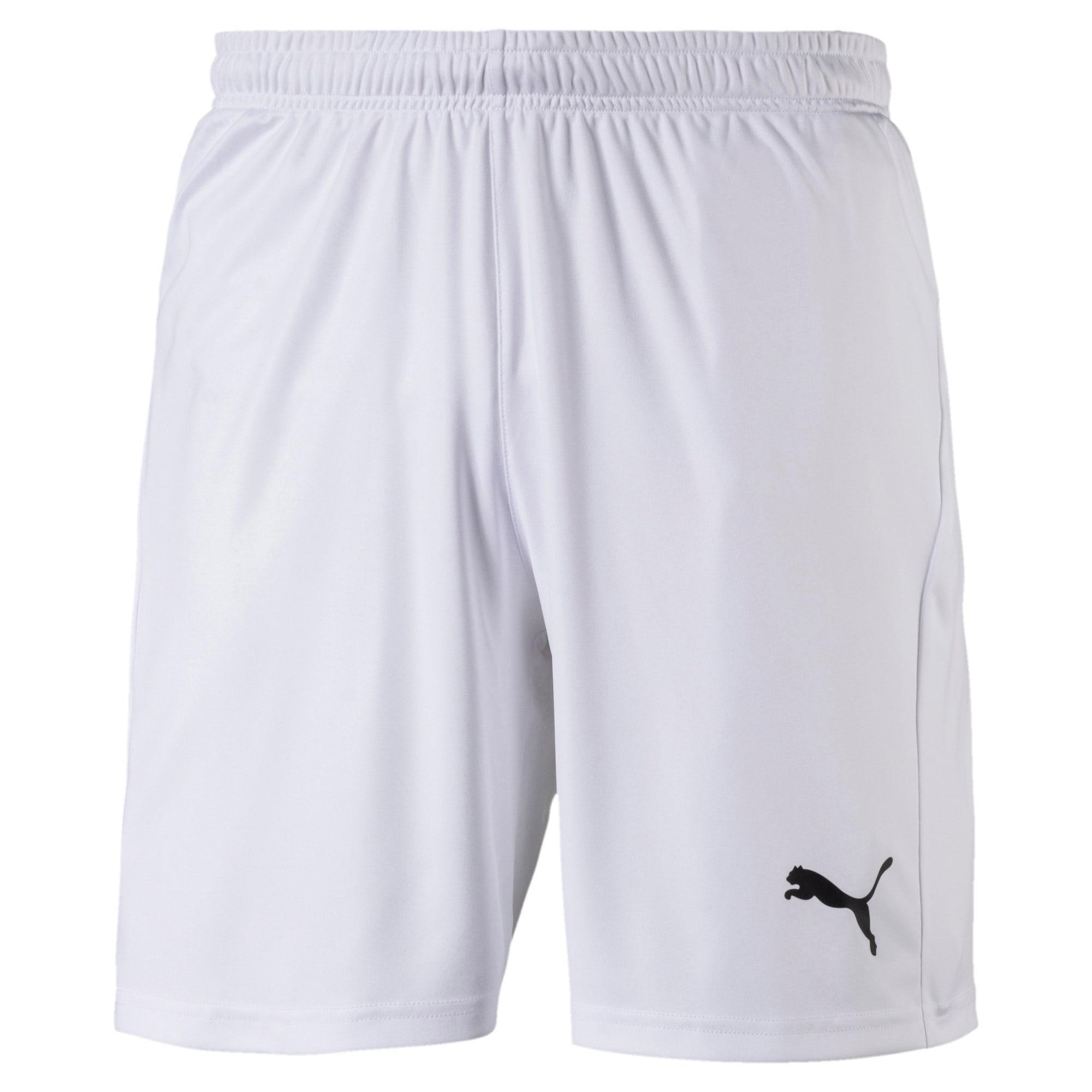 Thumbnail 4 of Liga Core Men's Shorts, Puma White-Puma Black, medium