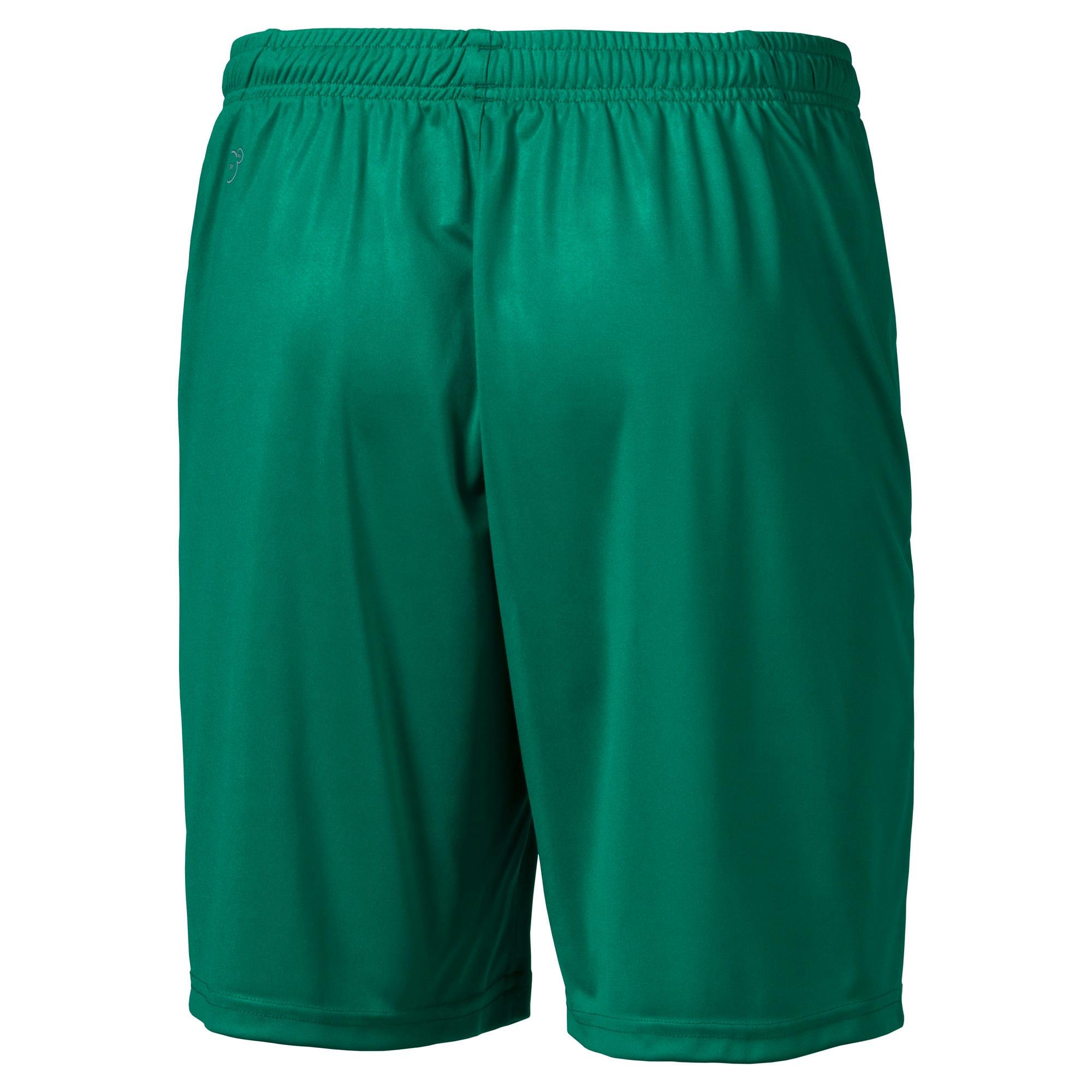 Thumbnail 4 of Liga Core Men's Shorts, Pepper Green-Puma White, medium