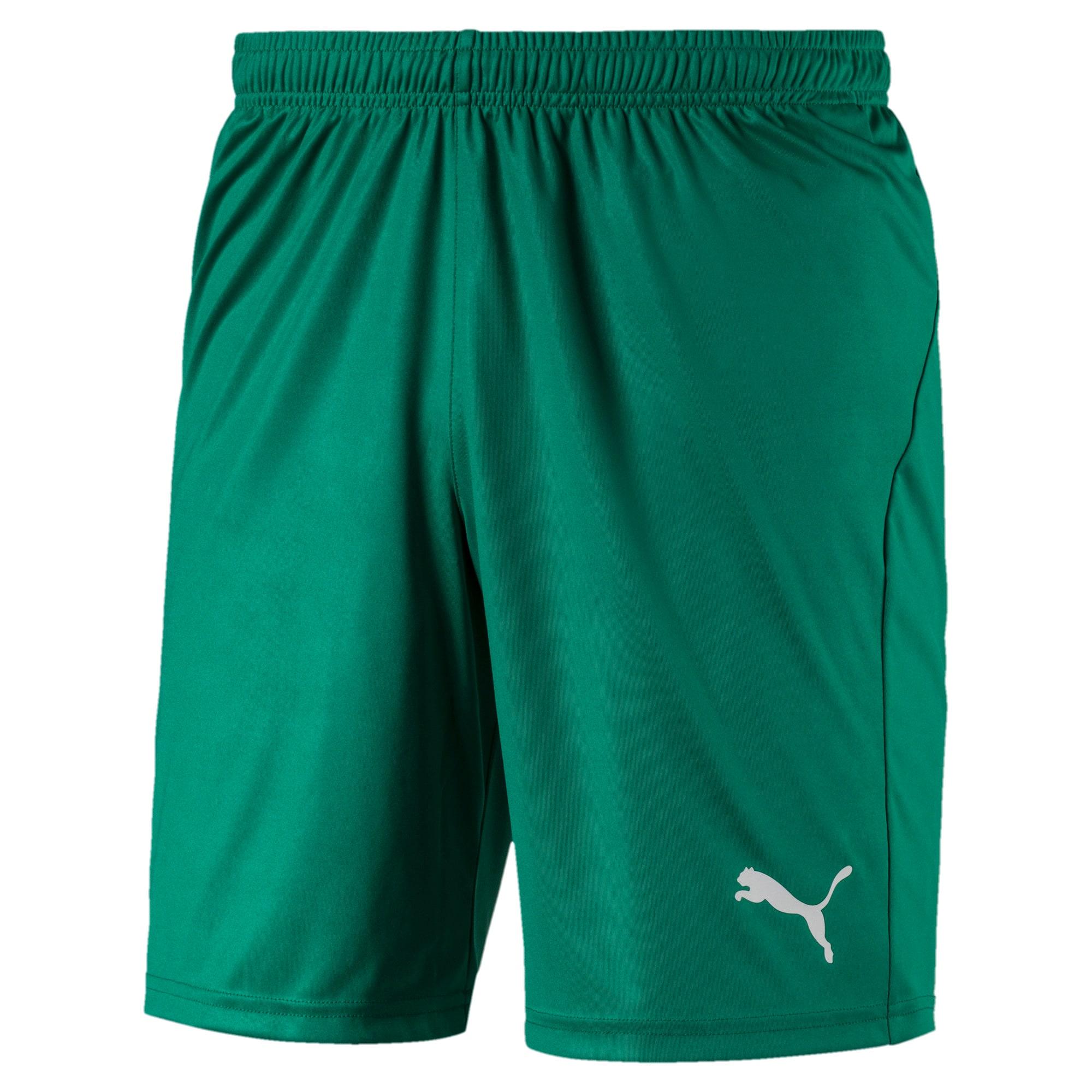 Thumbnail 1 of Liga Core Men's Shorts, Pepper Green-Puma White, medium
