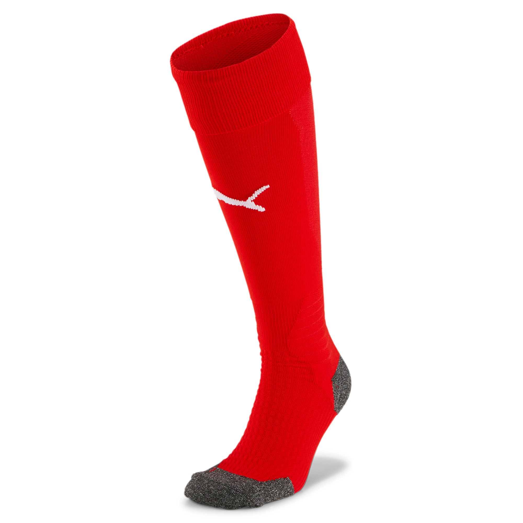 Thumbnail 1 of Liga Football Socks, Puma Red-Puma White, medium