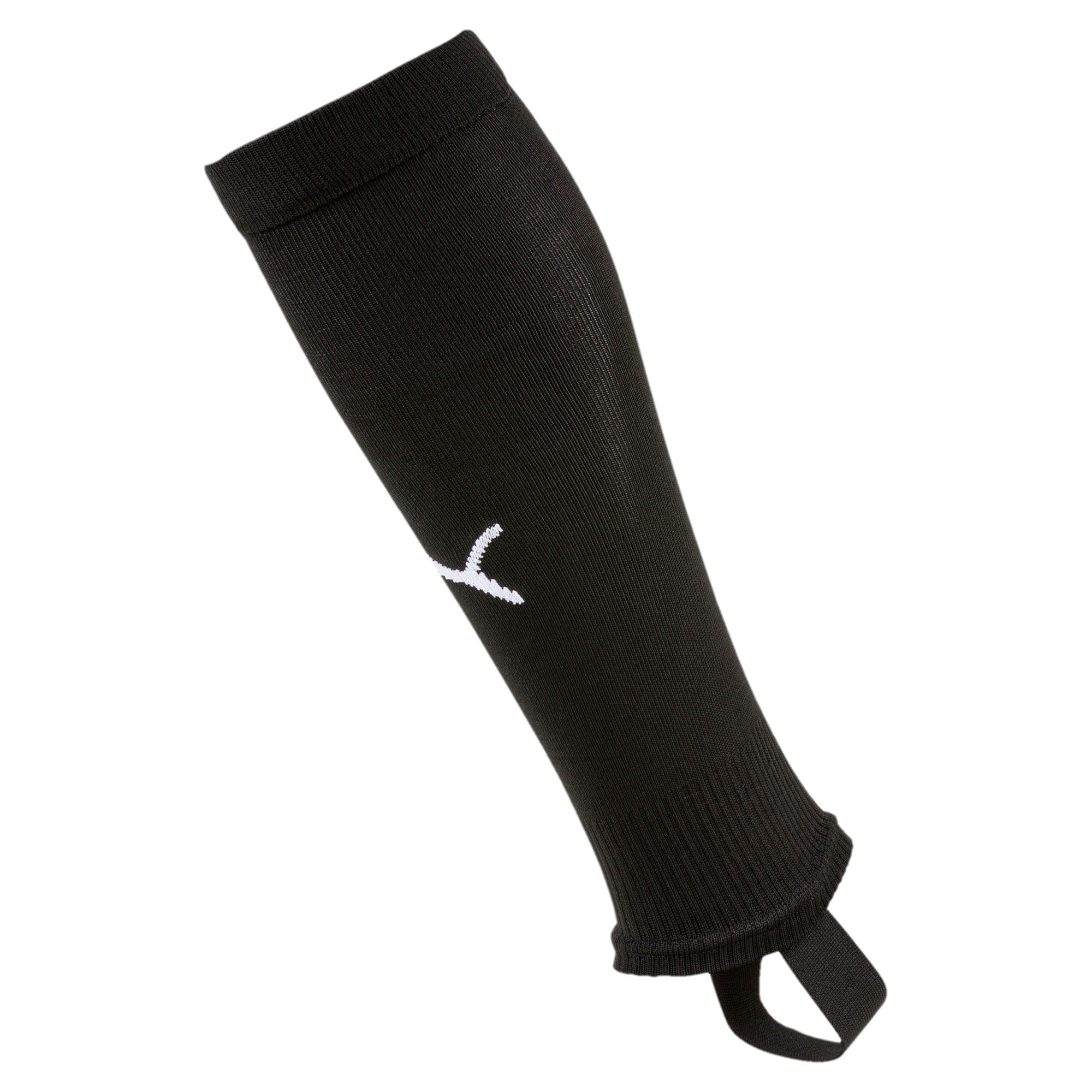 Thumbnail 1 of LIGA Stirrup Men's Football Socks, Puma Black-Puma White, medium