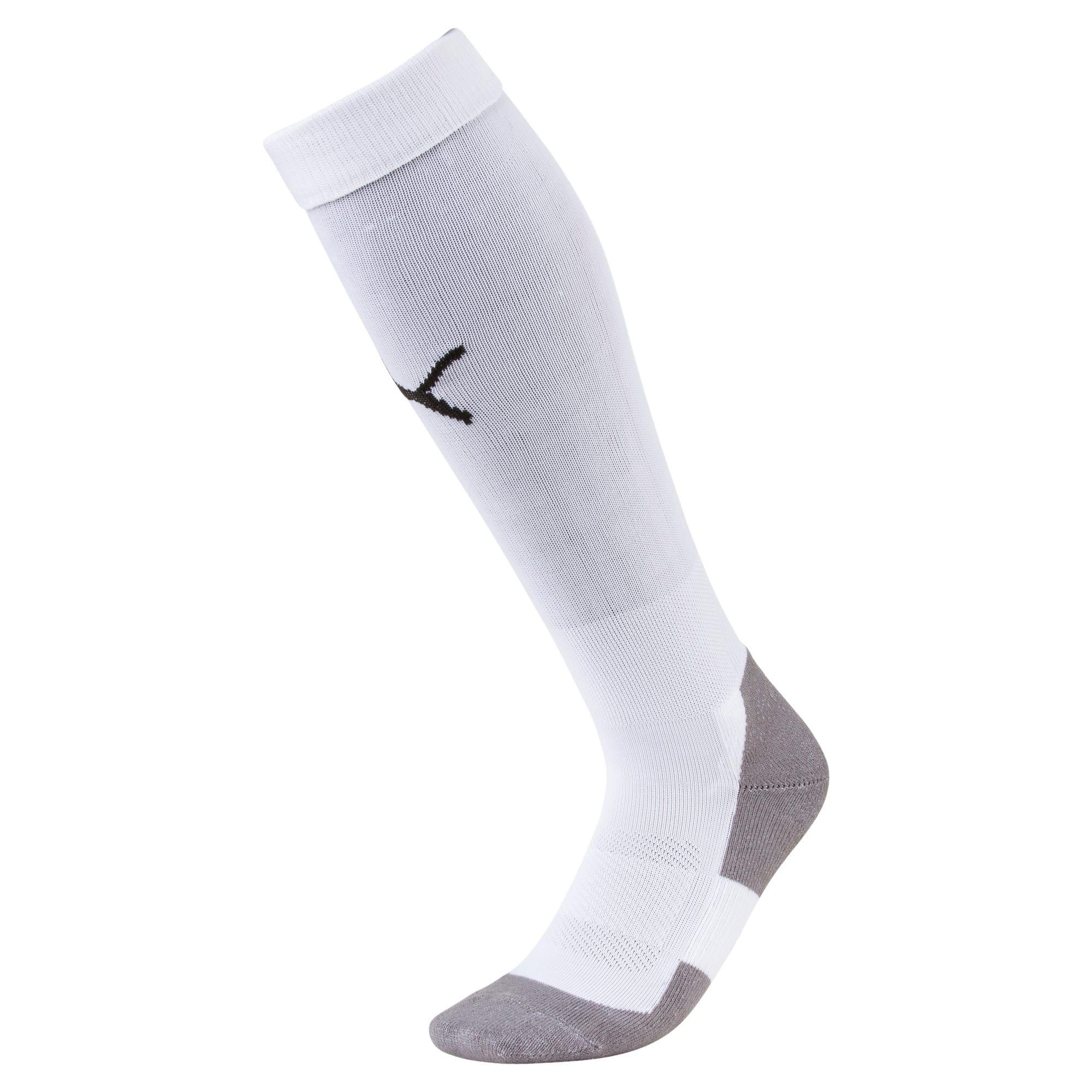 Thumbnail 1 of Fußball Herren LIGA Core Socken, Puma White-Puma Black, medium