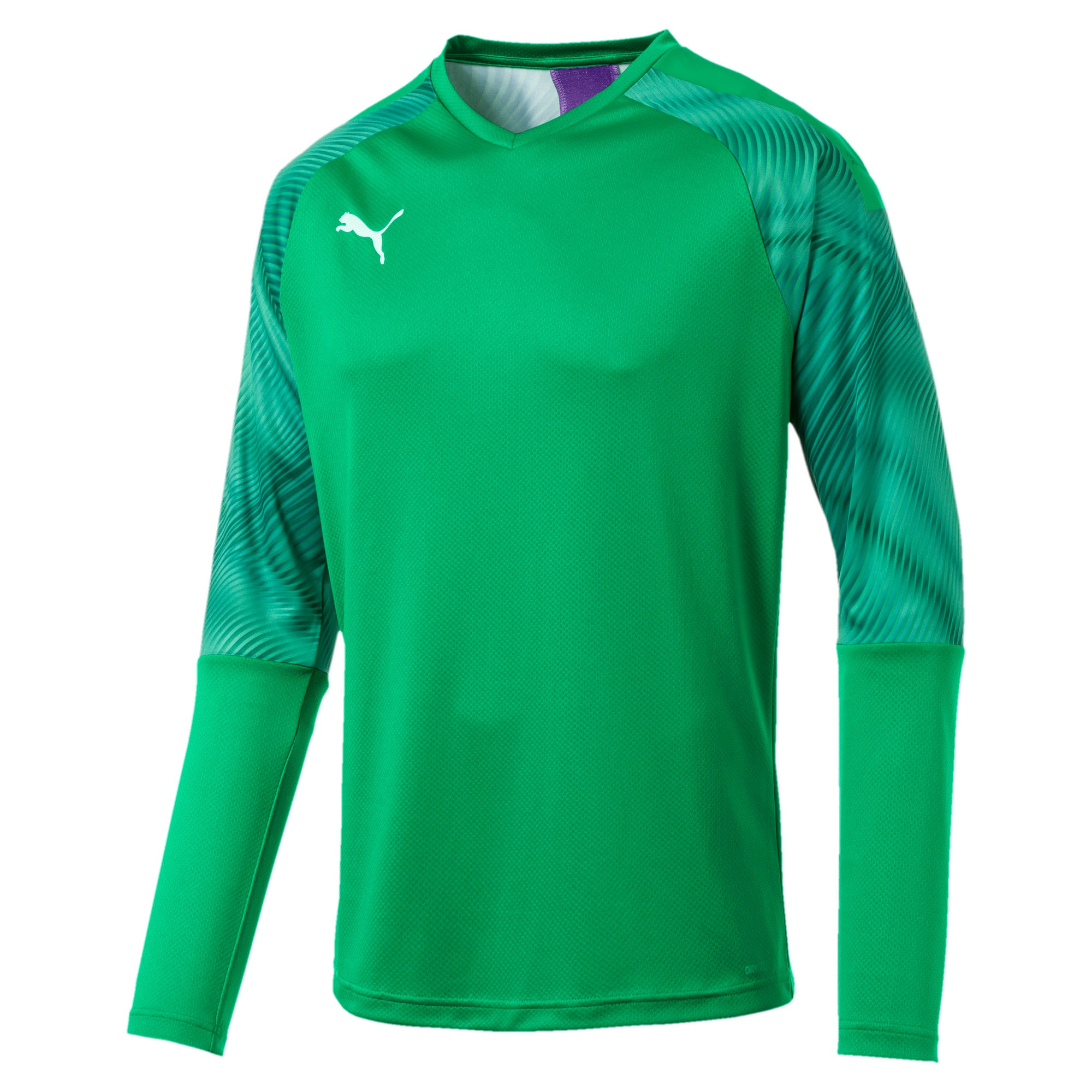 Thumbnail 4 of CUP Long Sleeve Men's Goalkeeper Jersey, Bright Green-Prism Violet, medium