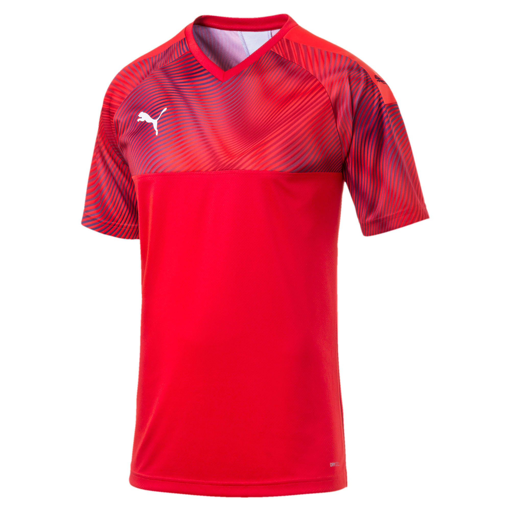 Thumbnail 4 of CUP Men's Football Jersey, Puma Red-Puma White, medium