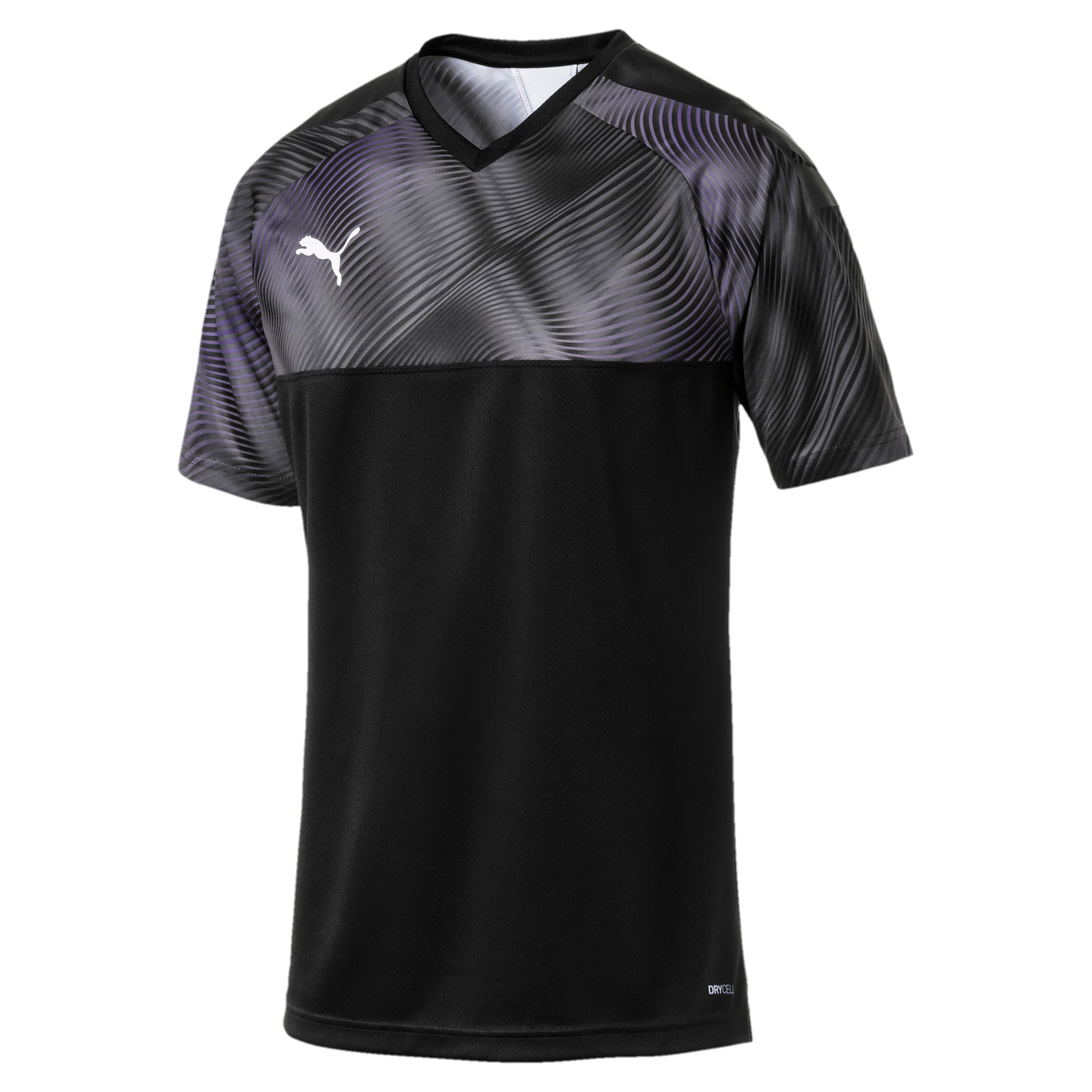 CUP Men's Football Jersey, Puma Black-Puma White, large