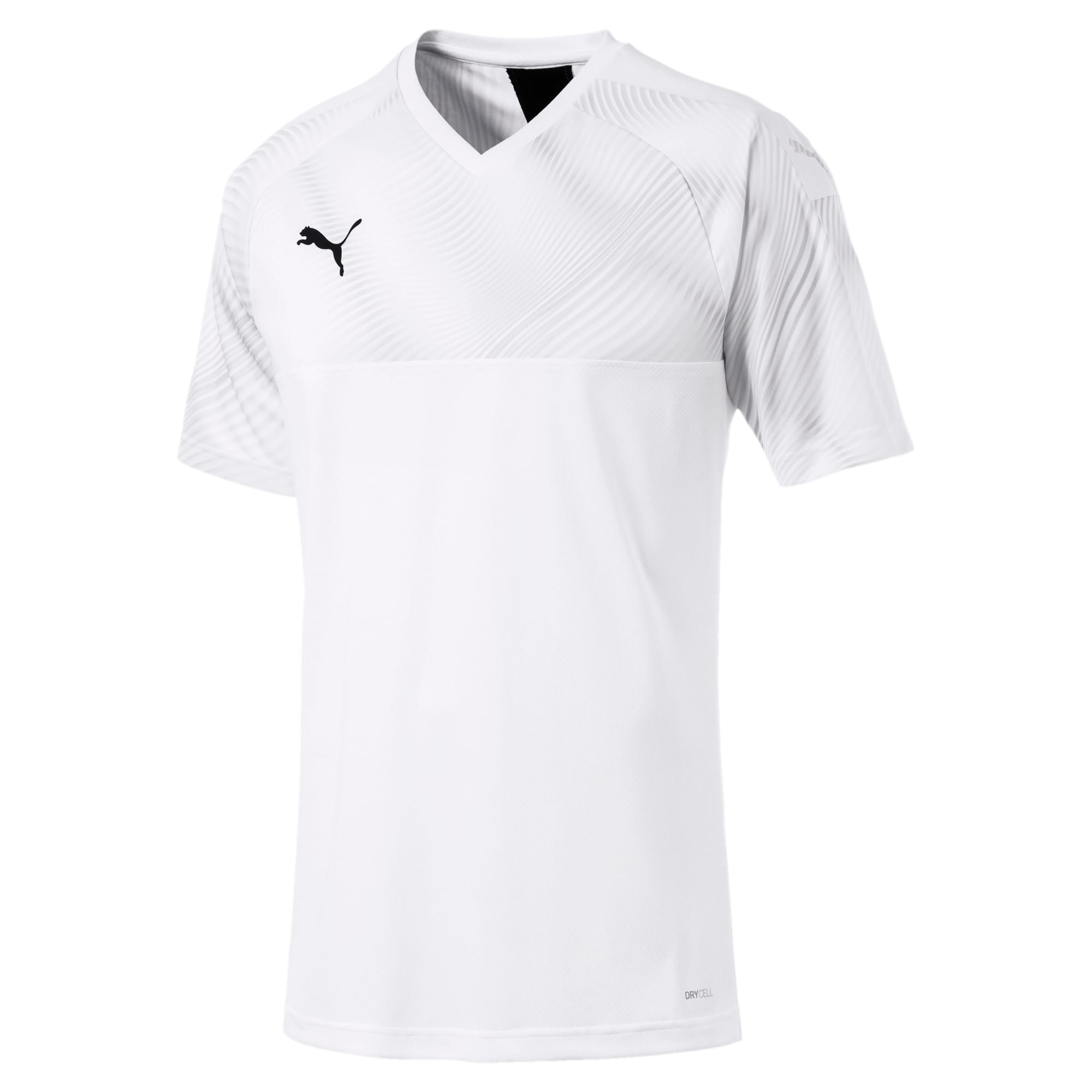 Thumbnail 4 of CUP Herren Fußball Trikot, Puma White-Puma Black, medium