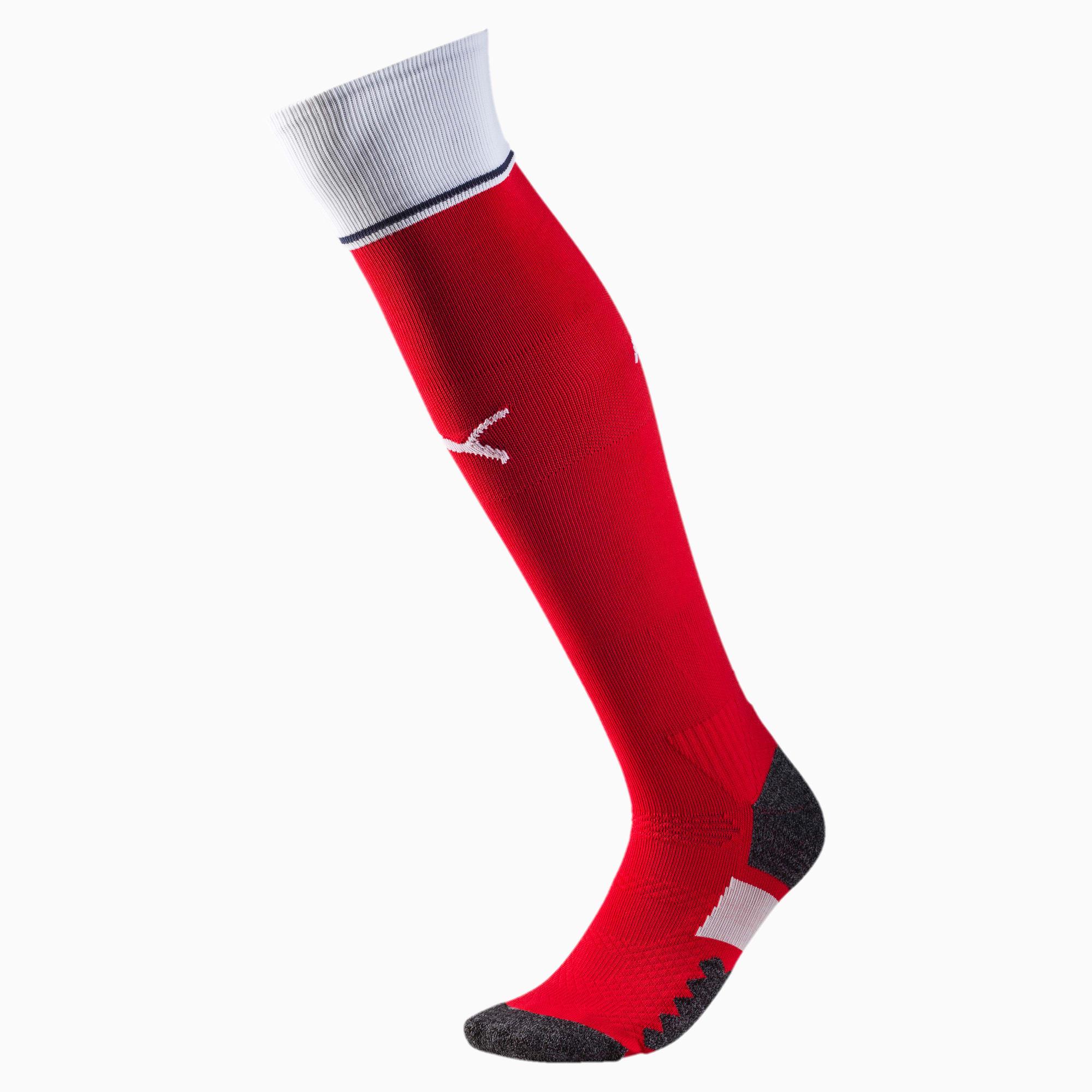 2016/17 Arsenal Striped Soccer Socks