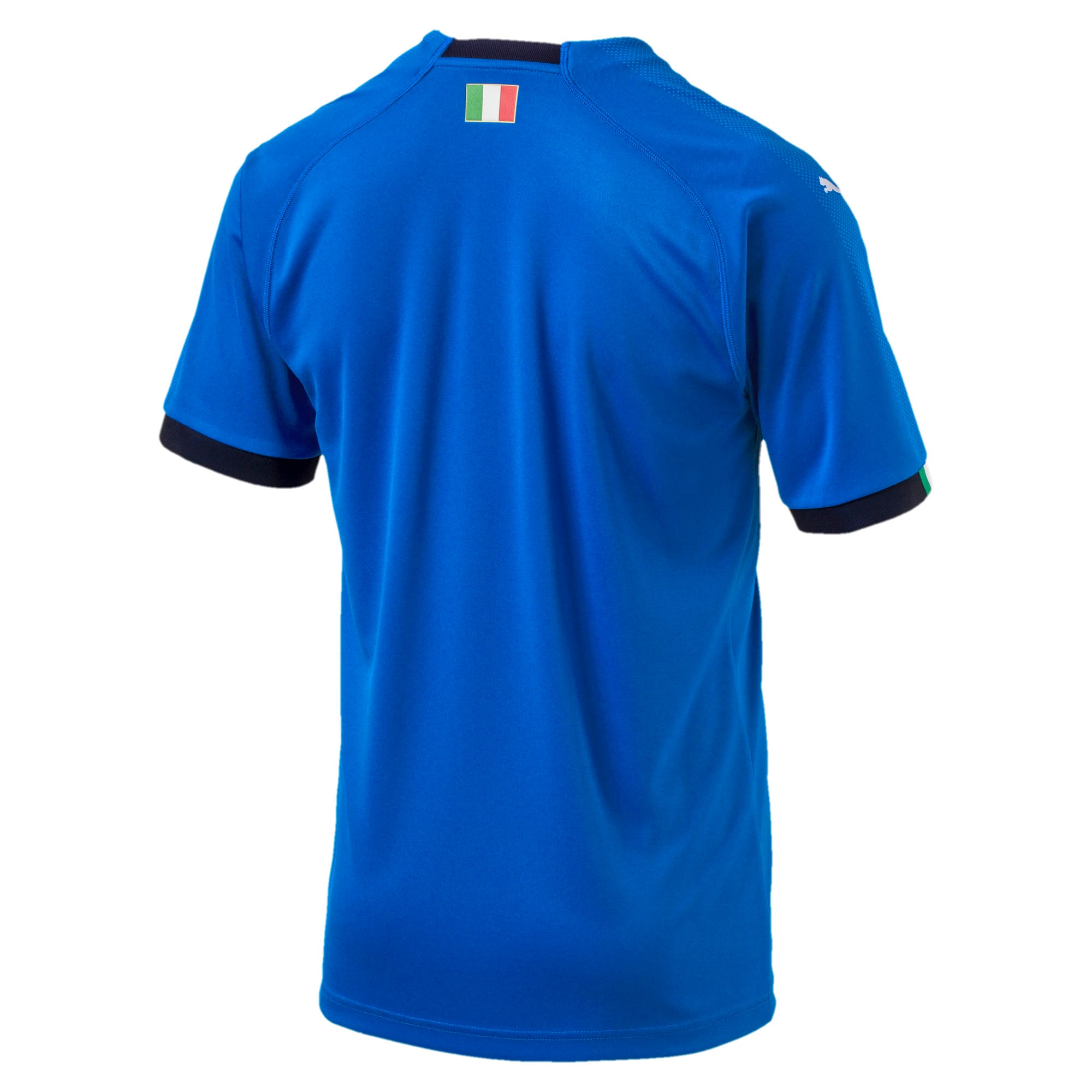Thumbnail 5 of FIGC ITALIA HOME SHIRT REPLICA, Team Power Blue-Peacoat, medium-JPN