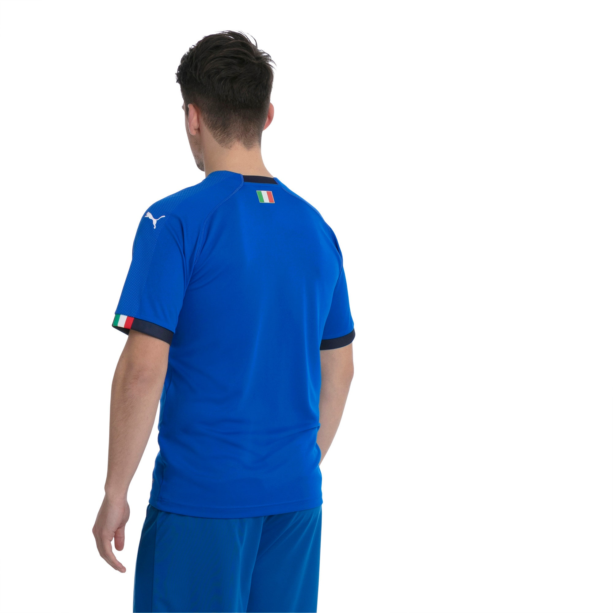 Italia Home Replica Jersey, Team Power Blue-Peacoat, large