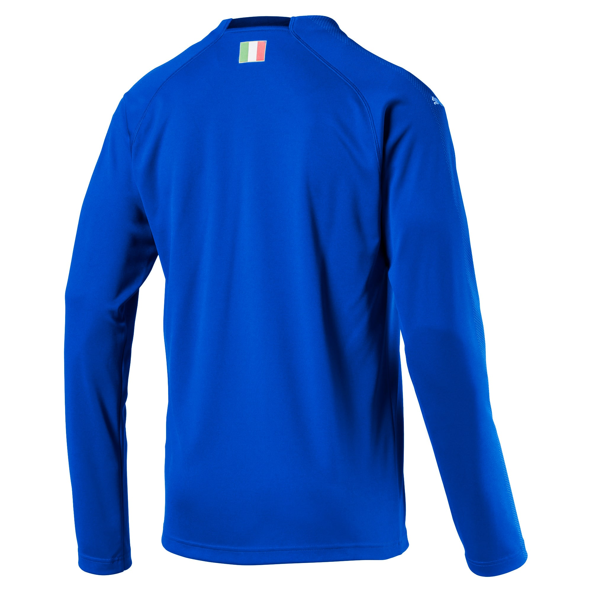 Italia Long Sleeve Home Replica Jersey, Team Power Blue-Peacoat, large
