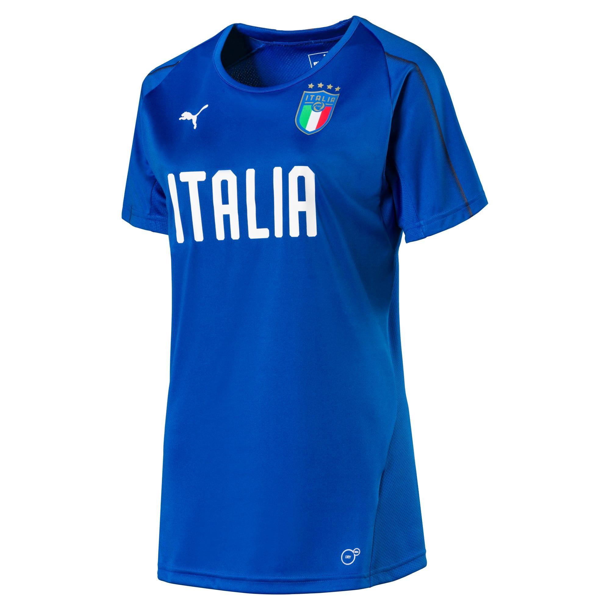 Thumbnail 1 van Italia-trainingsshirt voor vrouwen, Team Power Blue-Puma White, medium