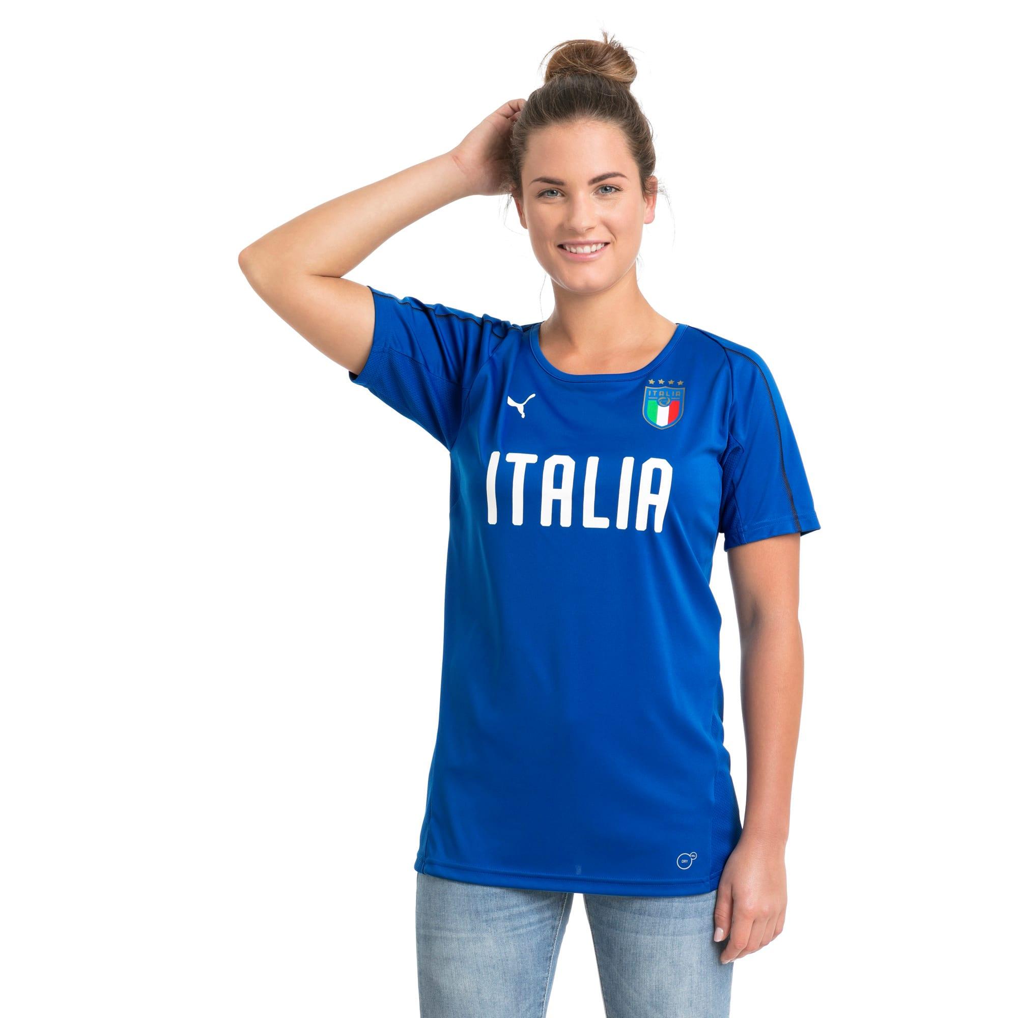 Thumbnail 2 van Italia-trainingsshirt voor vrouwen, Team Power Blue-Puma White, medium
