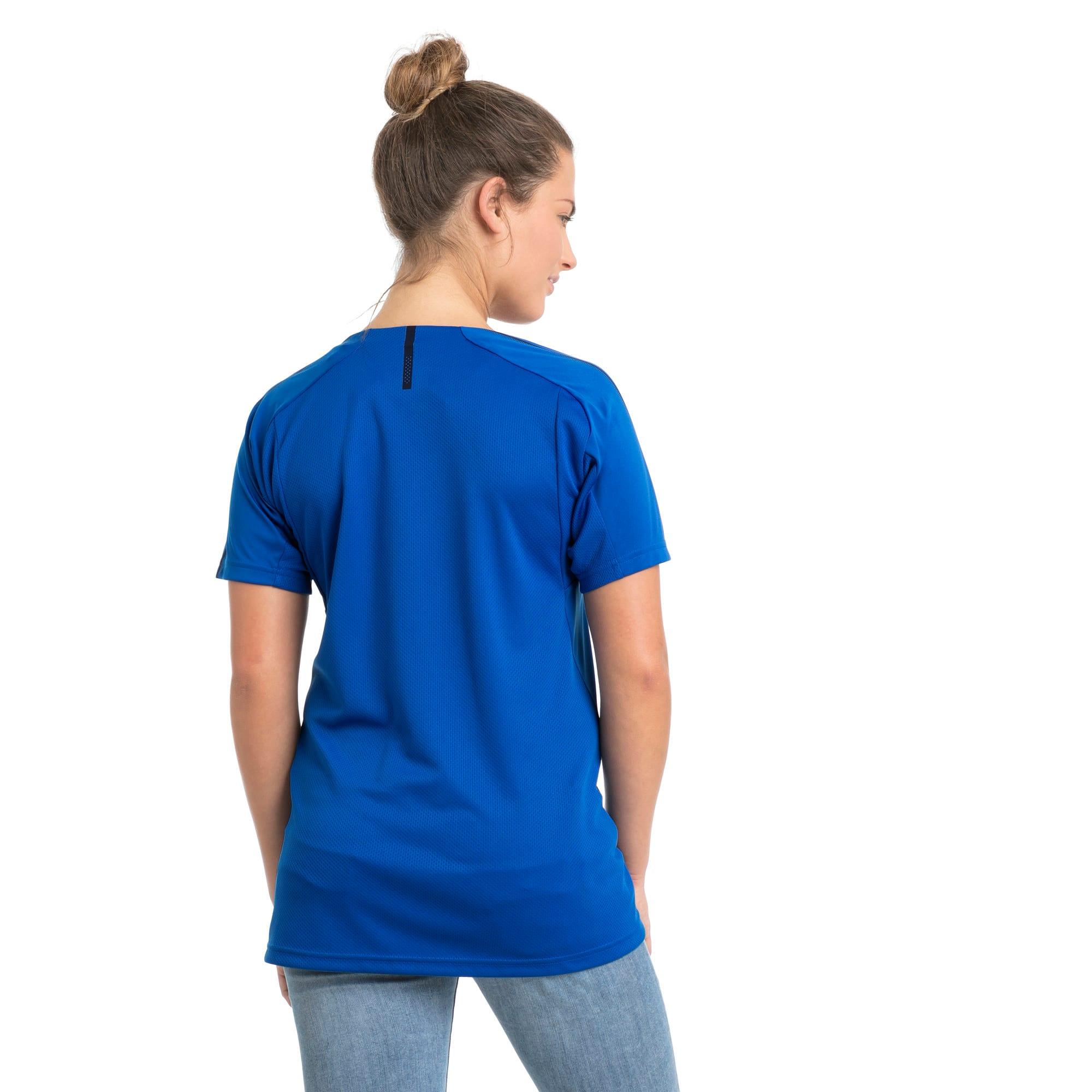 Thumbnail 3 van Italia-trainingsshirt voor vrouwen, Team Power Blue-Puma White, medium