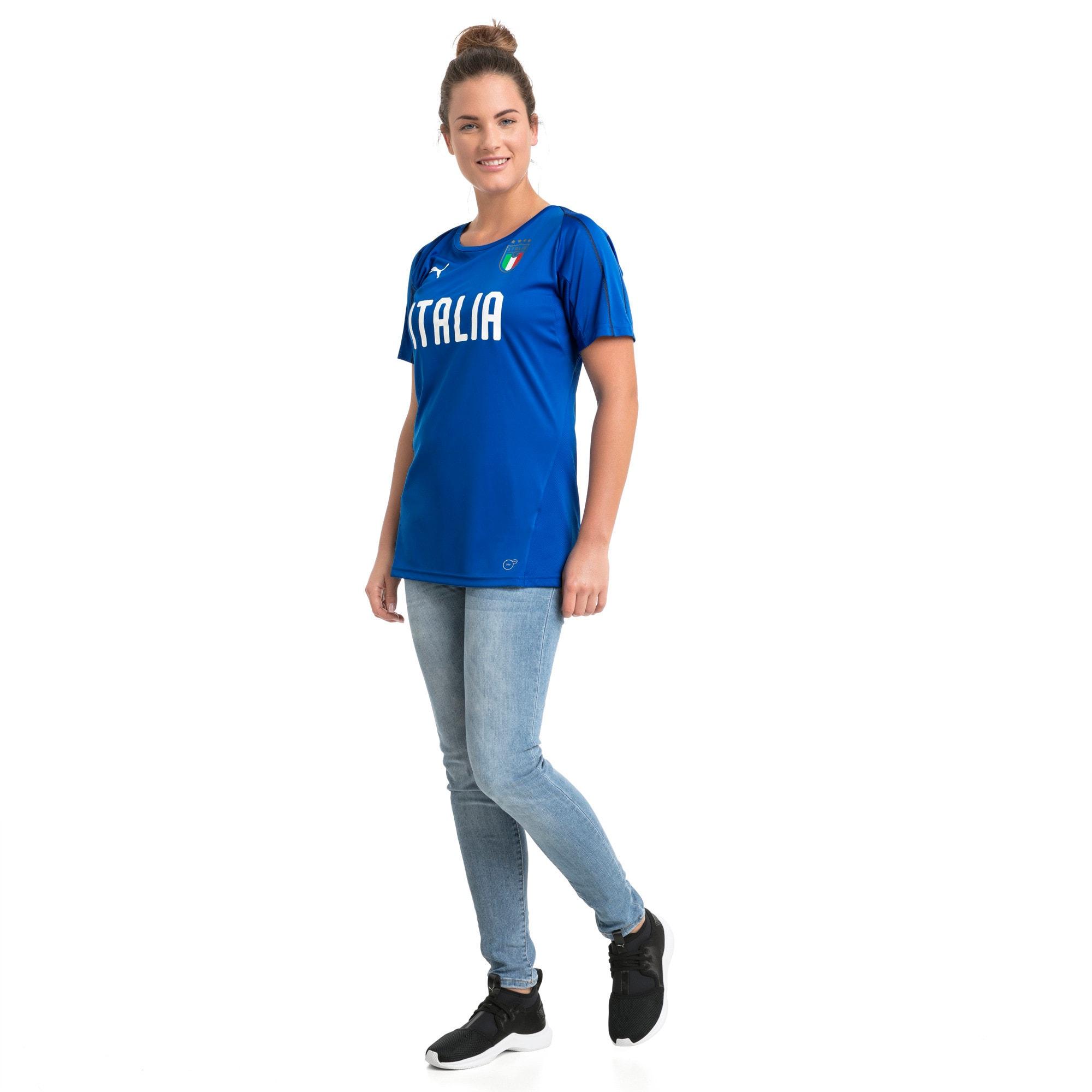 Thumbnail 5 van Italia-trainingsshirt voor vrouwen, Team Power Blue-Puma White, medium