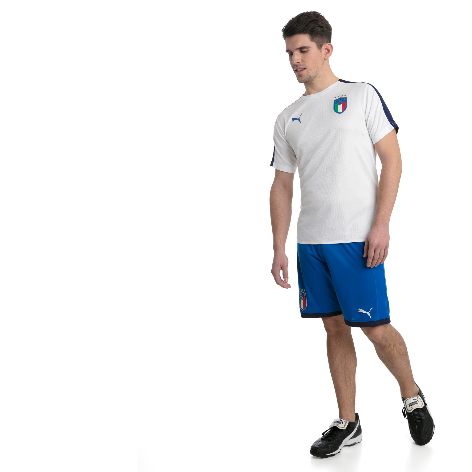Thumbnail 5 of Italia Stadium Jersey, Puma White-Team power blue, medium