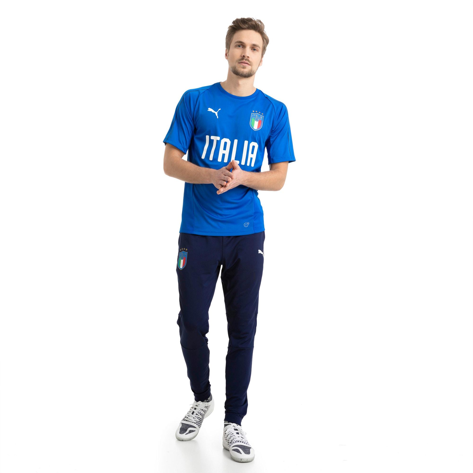 Thumbnail 5 of Italia Training Jersey, Team Power Blue-Puma White, medium