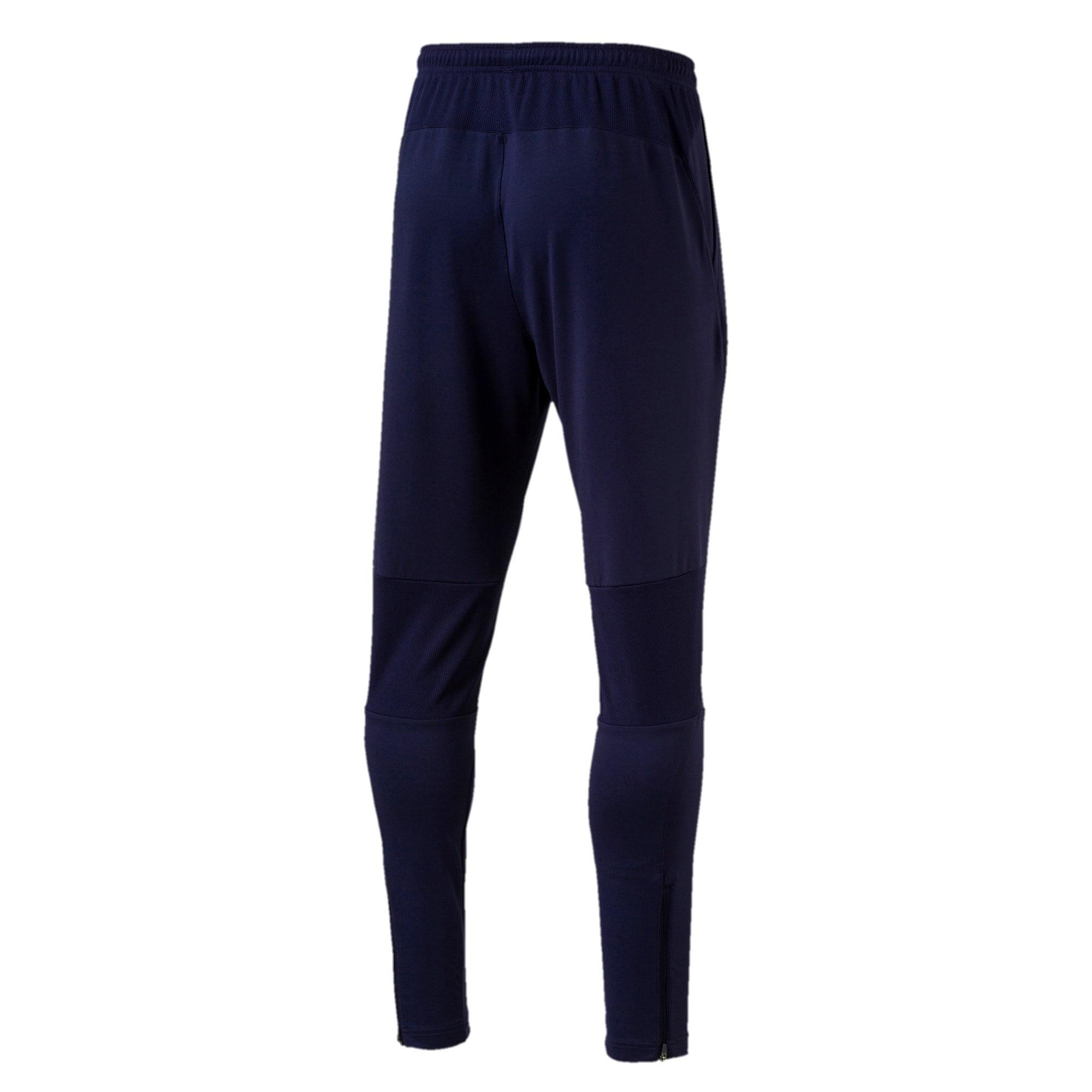 Thumbnail 4 of Italia Training Pants Zipped Pockets, Peacoat, medium