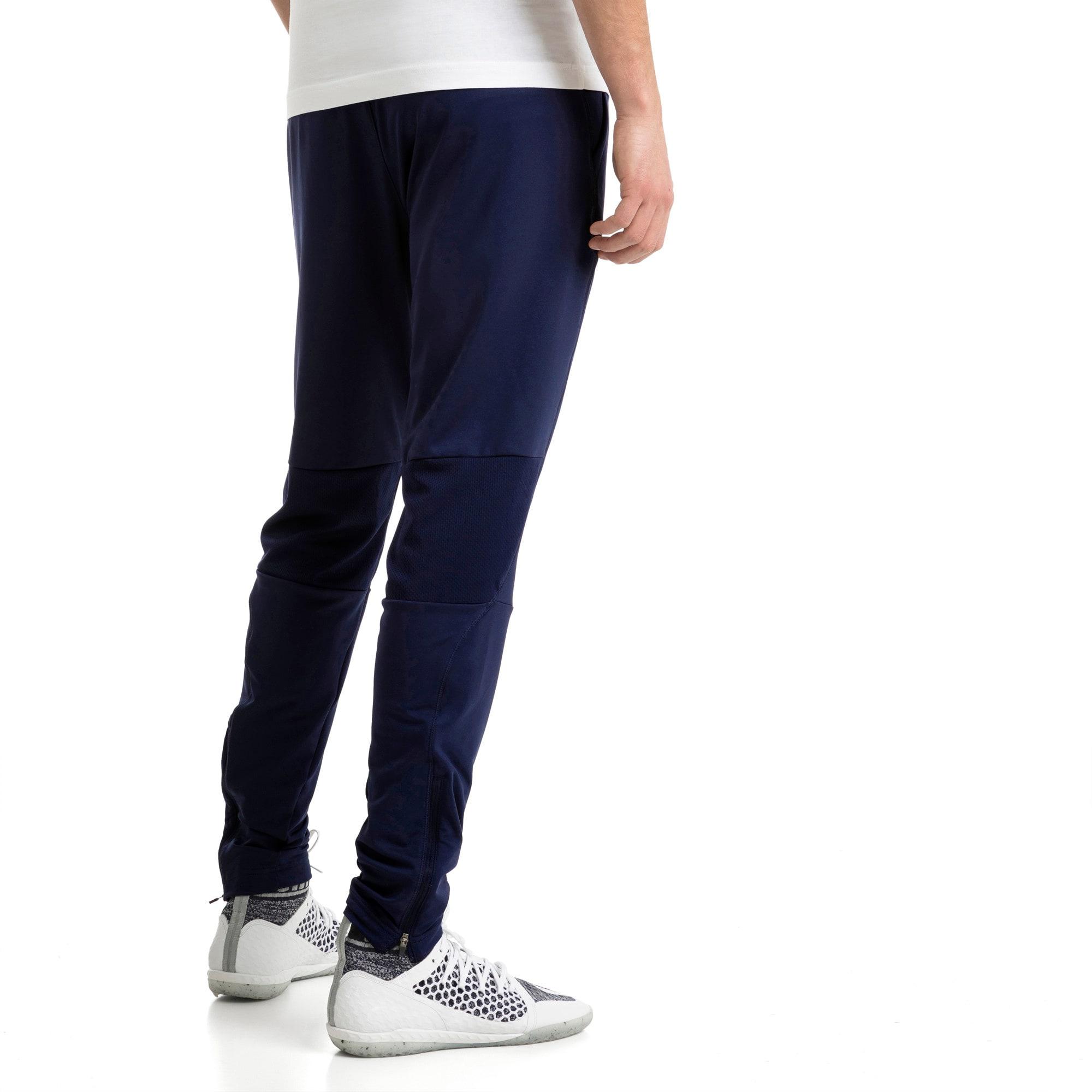 Thumbnail 3 of Italia Training Pants Zipped Pockets, Peacoat, medium