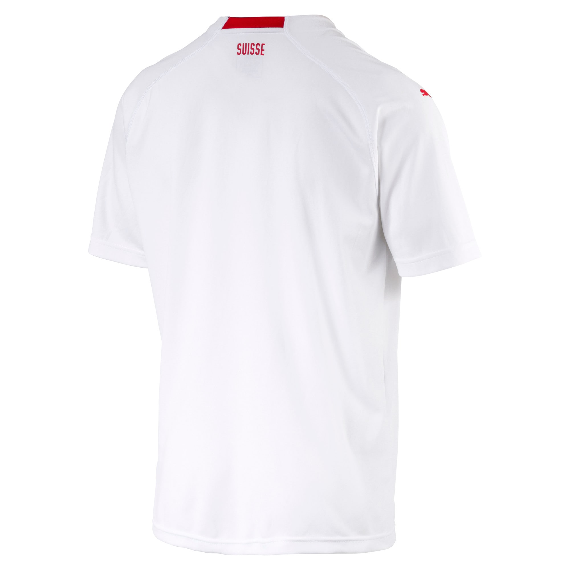 Thumbnail 3 of Switzerland Men's Away Replica Jersey, Puma White-Puma Red, medium