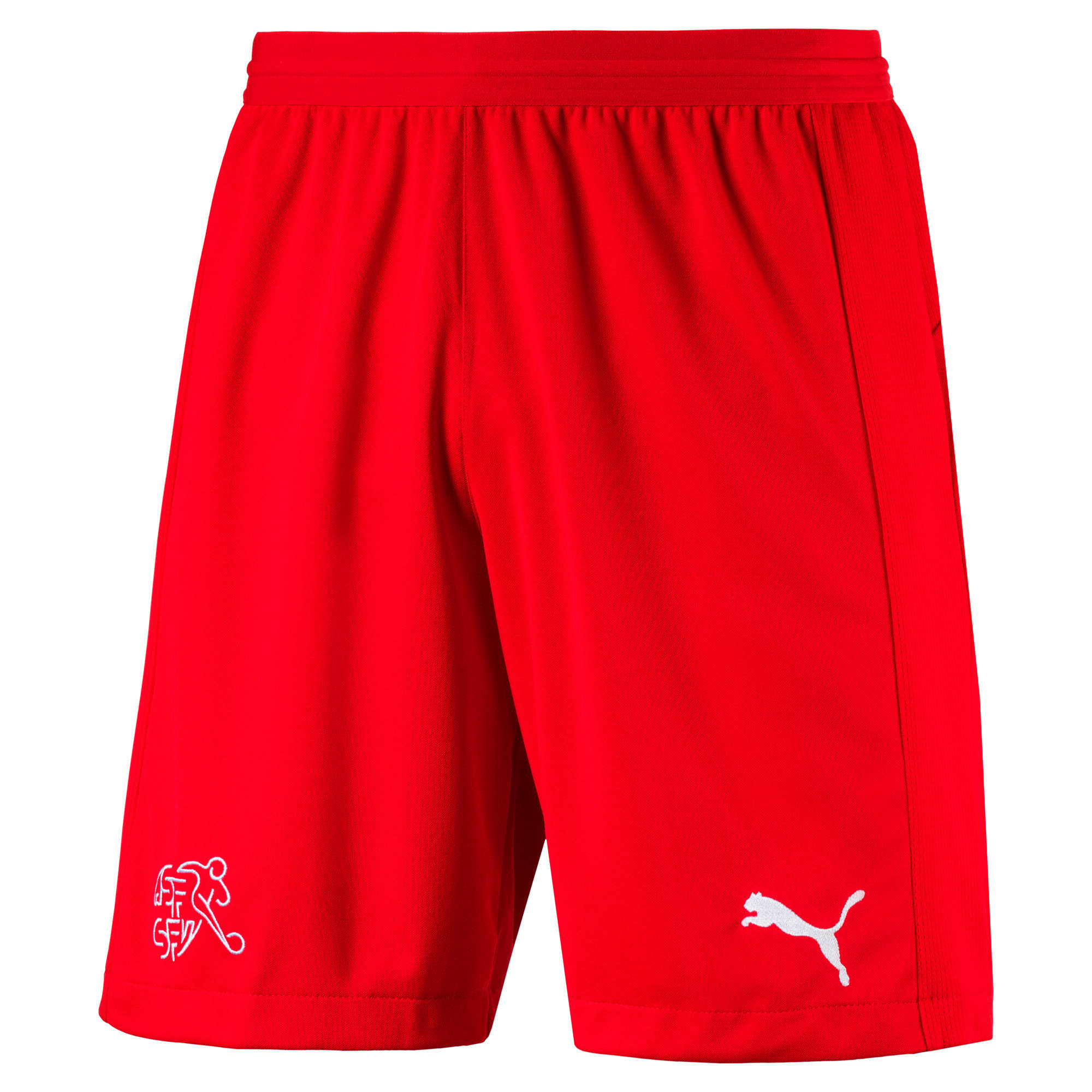 Thumbnail 5 of Switzerland Replica Shorts, Puma Red, medium