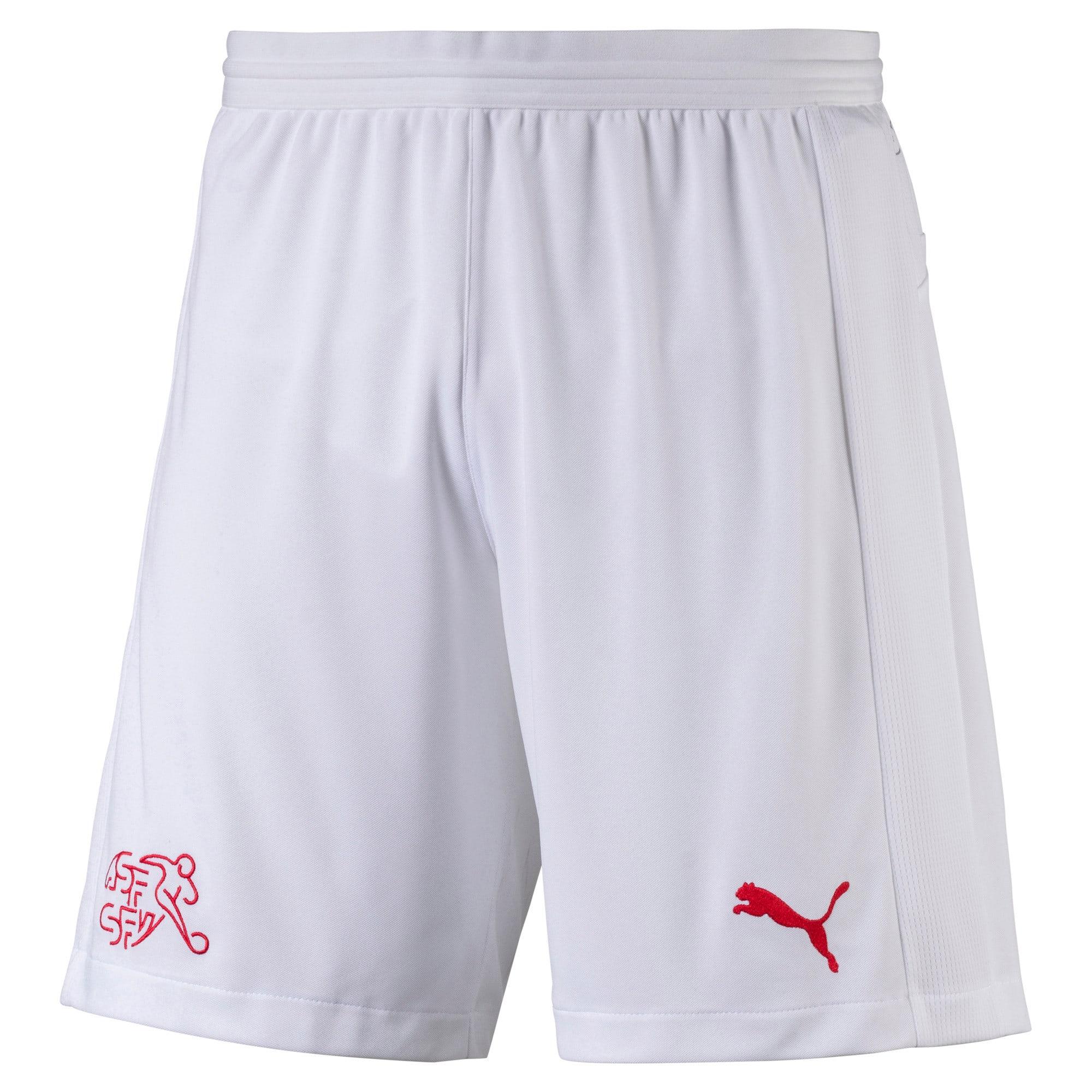Thumbnail 5 of Switzerland Replica Shorts, Puma White, medium