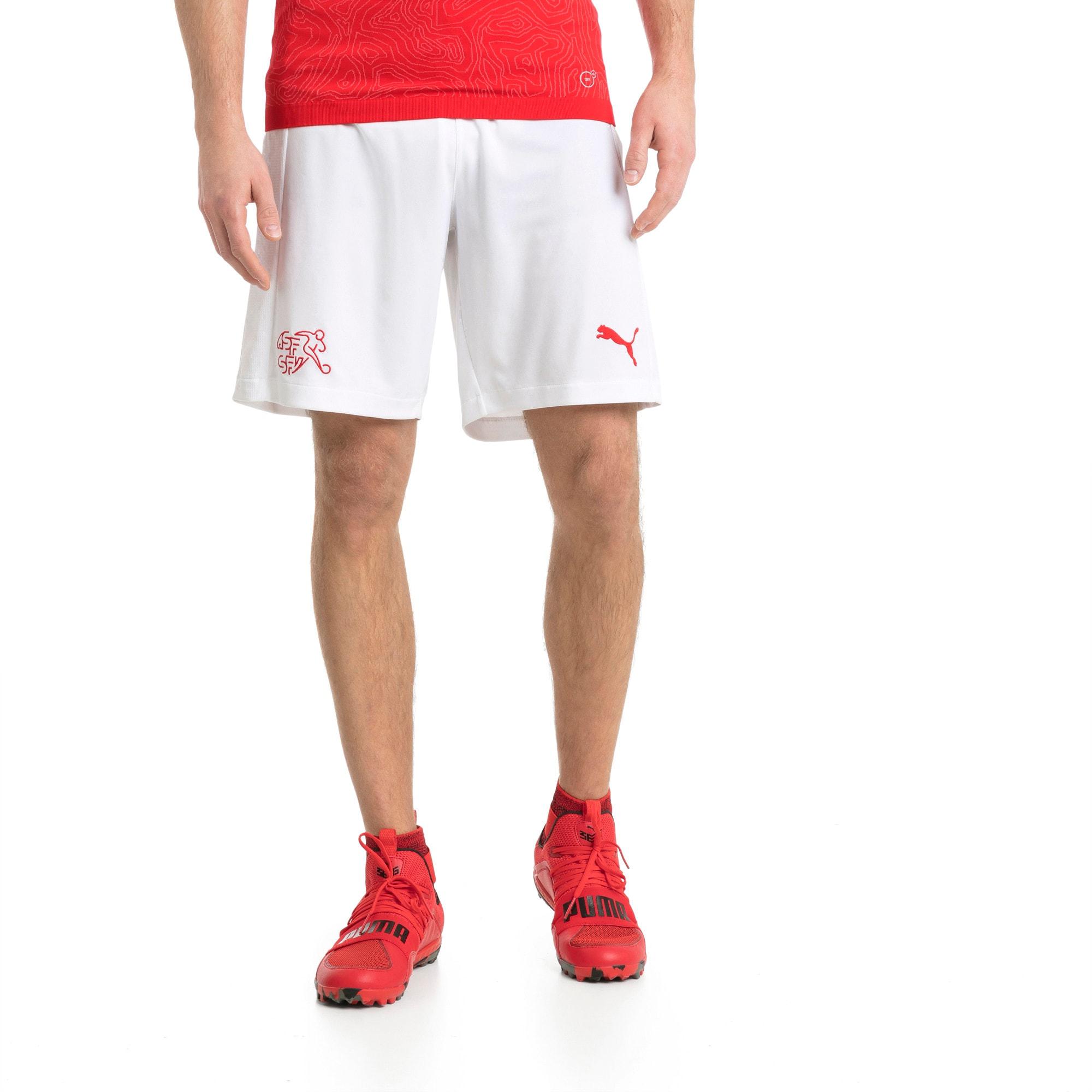 Thumbnail 1 of Switzerland Replica Shorts, Puma White, medium