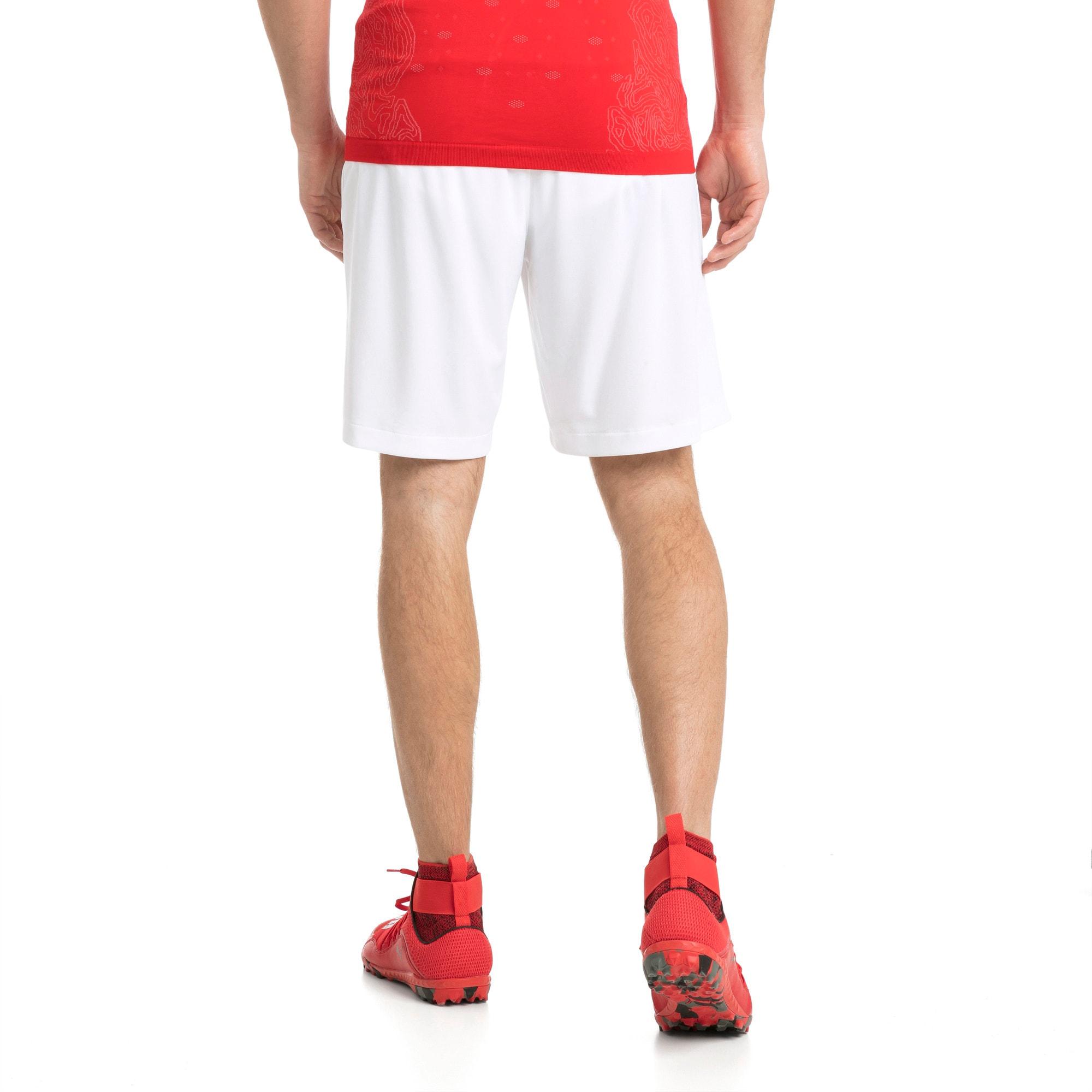 Thumbnail 2 of Switzerland Replica Shorts, Puma White, medium