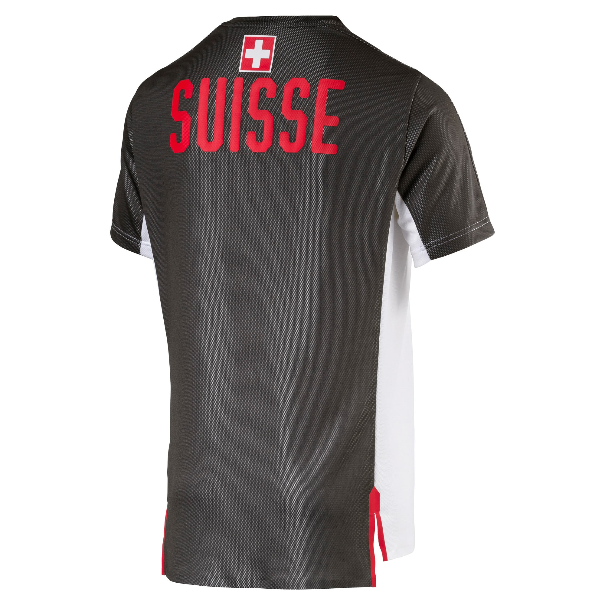 Thumbnail 4 of SUISSE Stadium Jersey, Puma White-Asphalt, medium