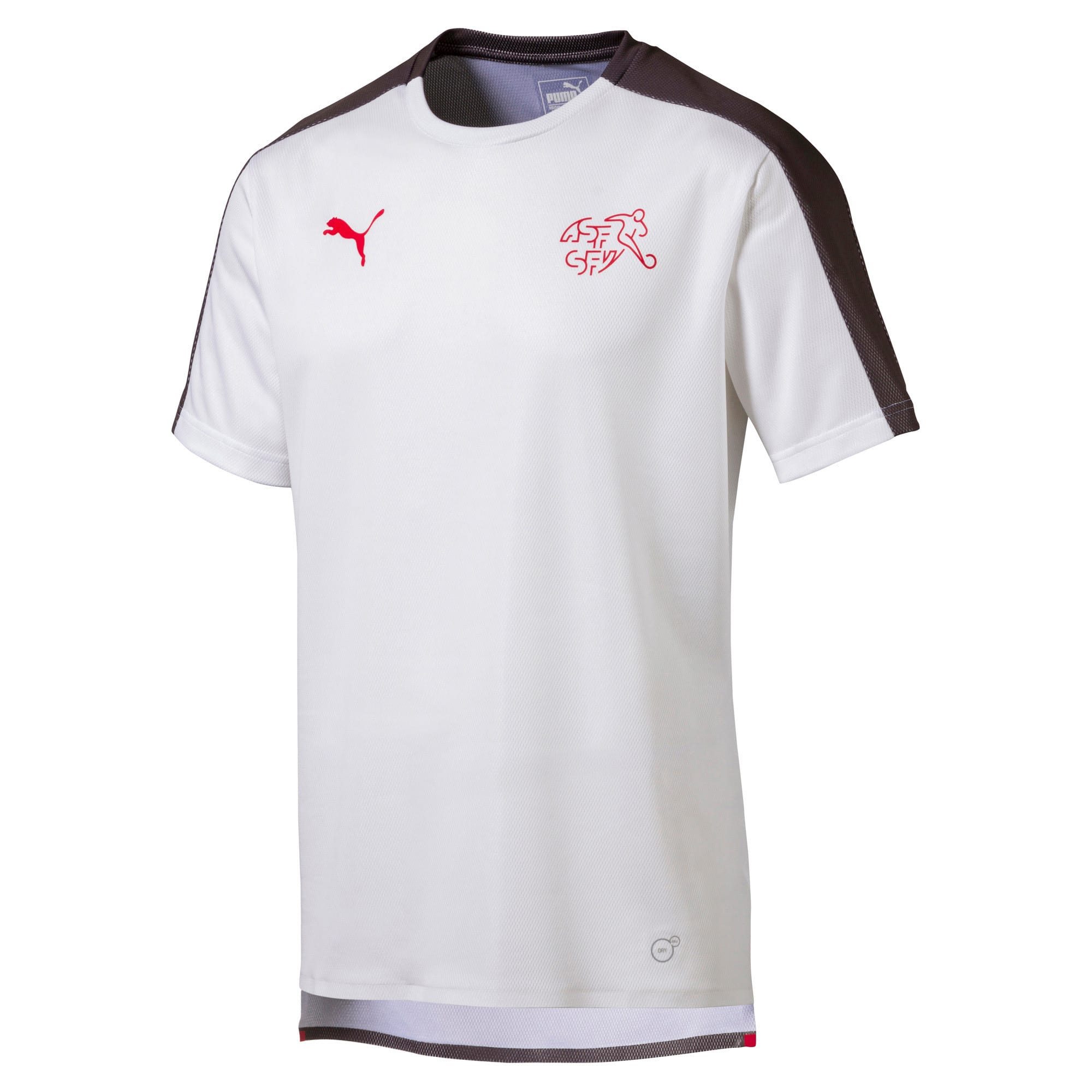 Thumbnail 1 of SUISSE Stadium Jersey, Puma White-Asphalt, medium