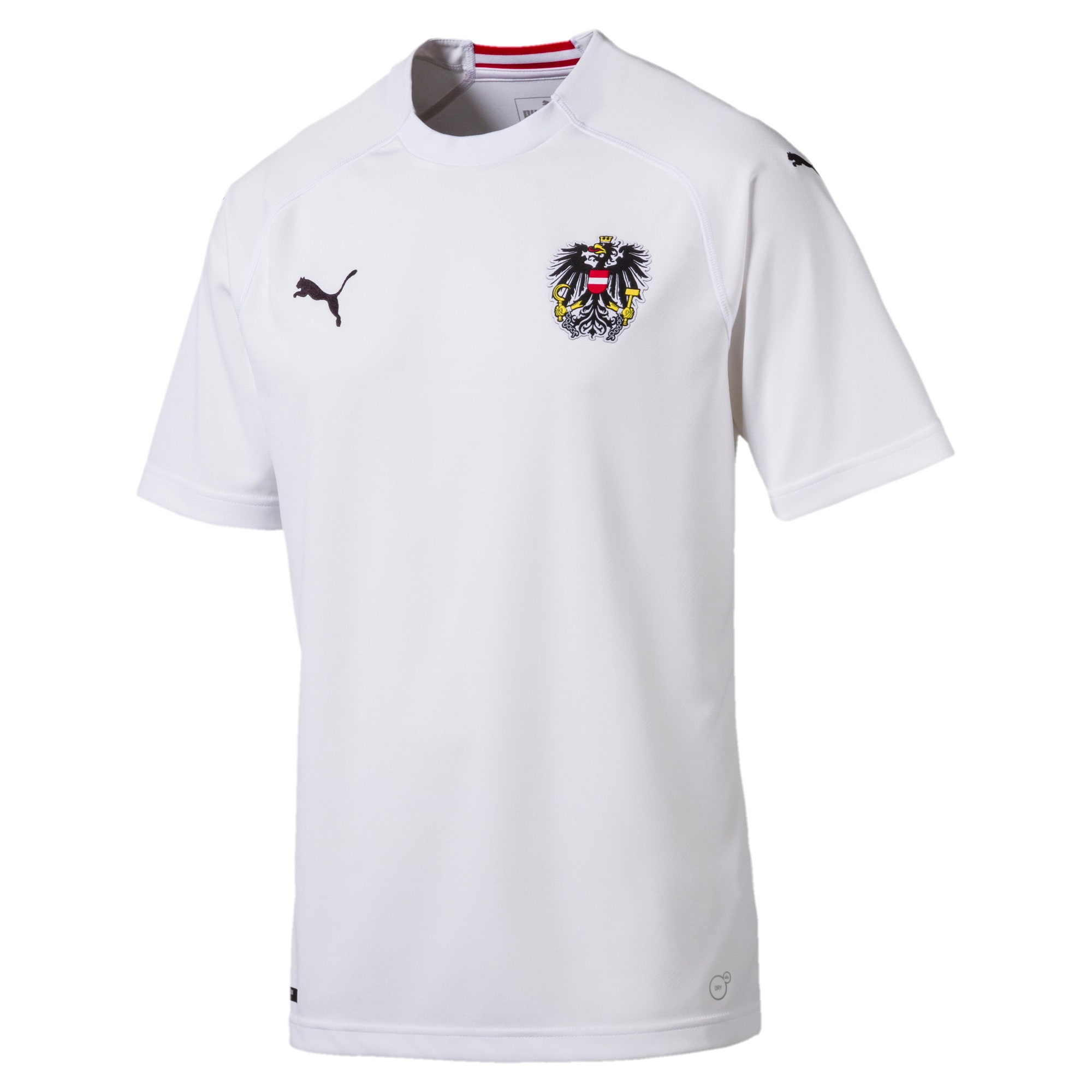 Thumbnail 5 of Austria Away Replica Shirt, Puma White, medium