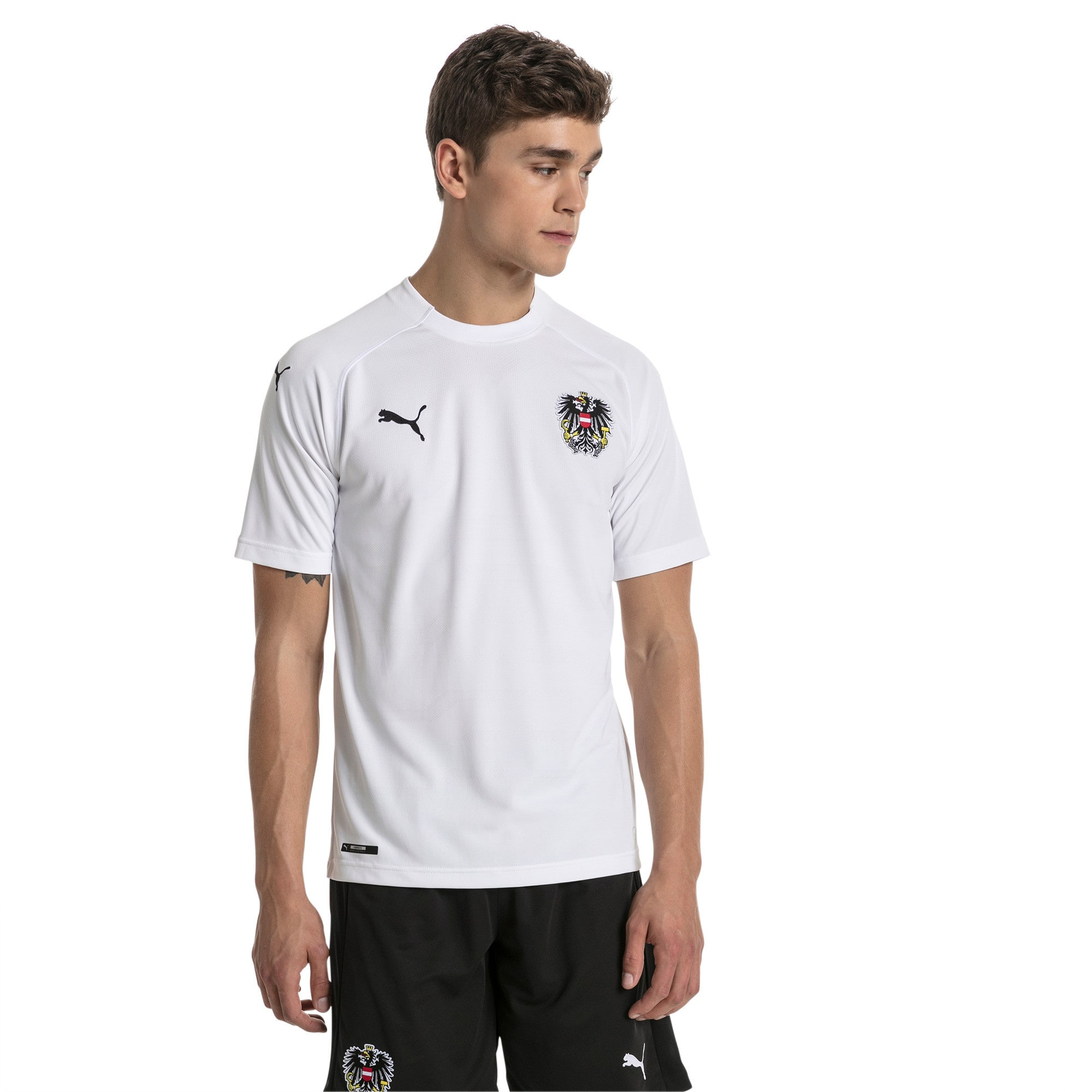 Thumbnail 1 of Austria Away Replica Shirt, Puma White, medium