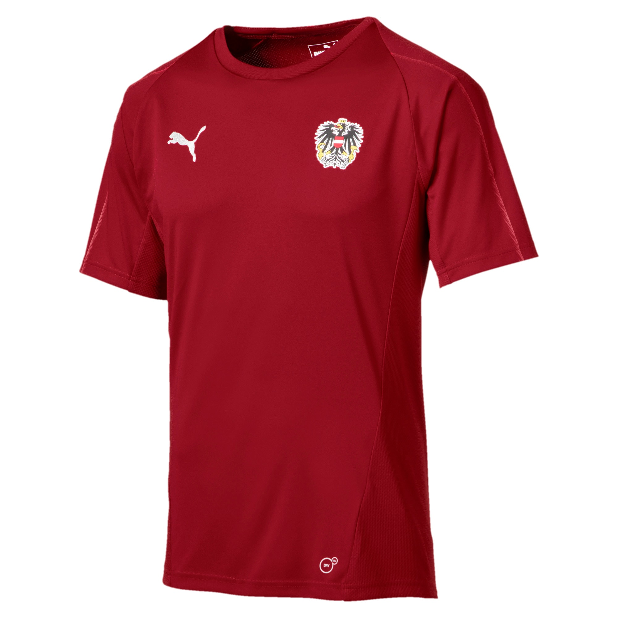 Thumbnail 1 of Austria Training Jersey, Red Dahlia, medium