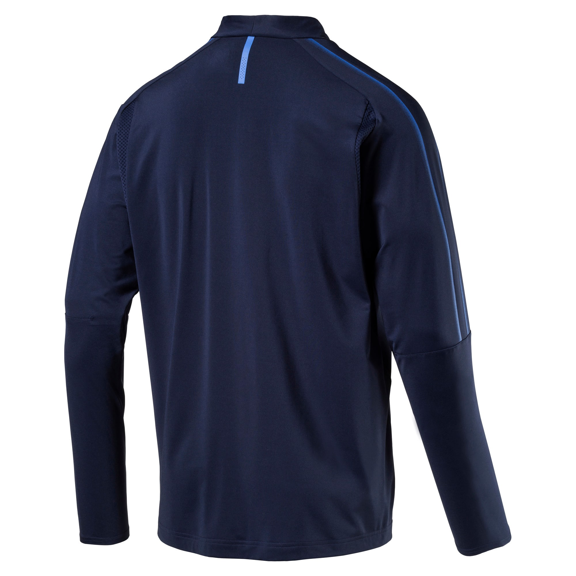 Thumbnail 4 of Czech Republic 1/4 Zip Training Top, Peacoat, medium